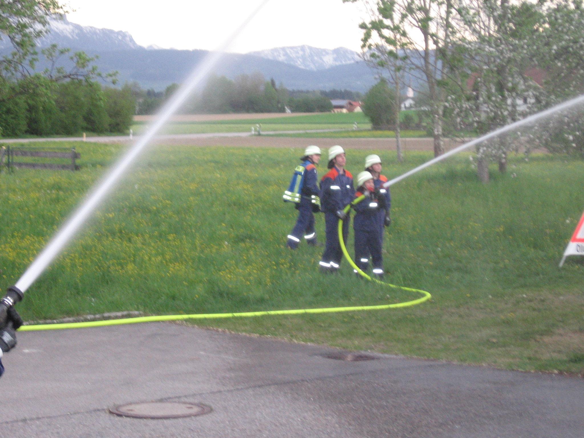 Übung Wasser