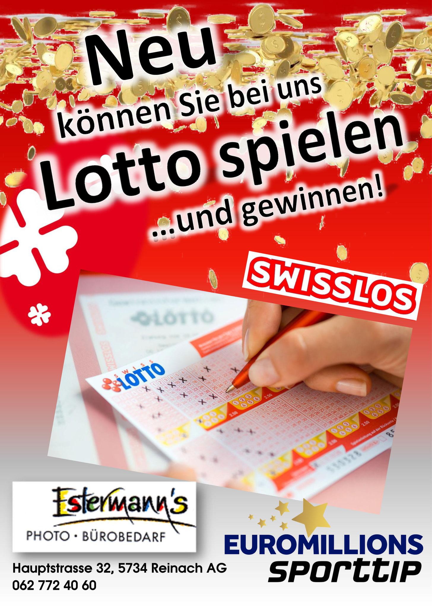 Auch in Reinach können Sie ab sofort Lotto spielen