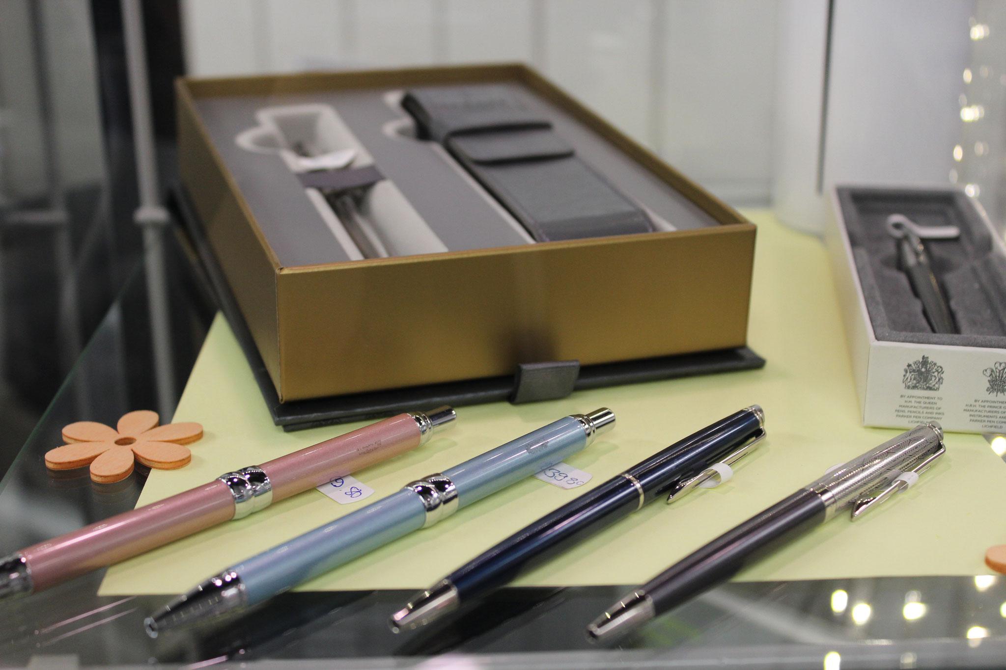 schöne Schreibgeräte einzeln oder im Set erhältlich