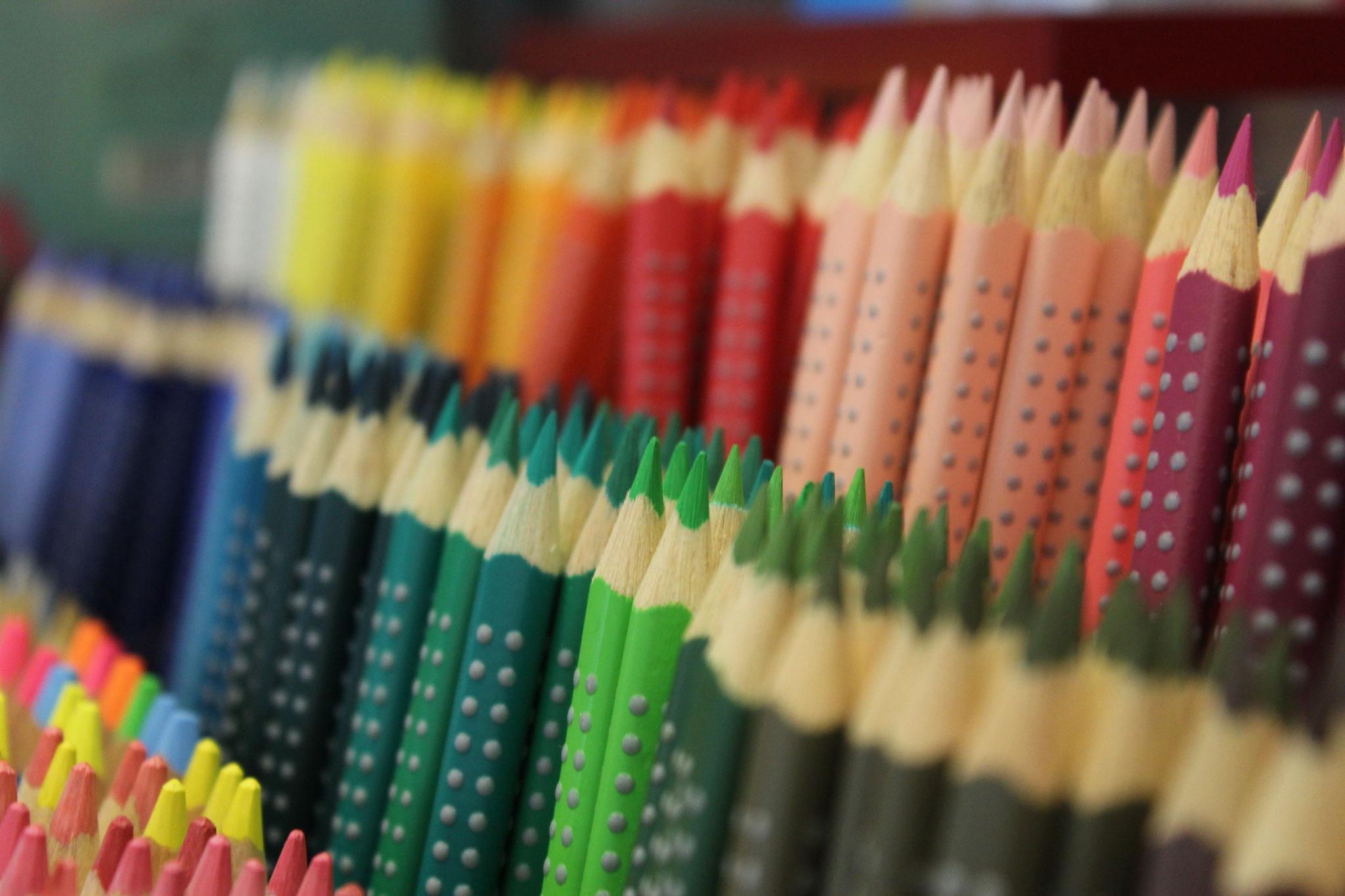 Faber Castell Farben einzeln oder in Schachteln erhältlich