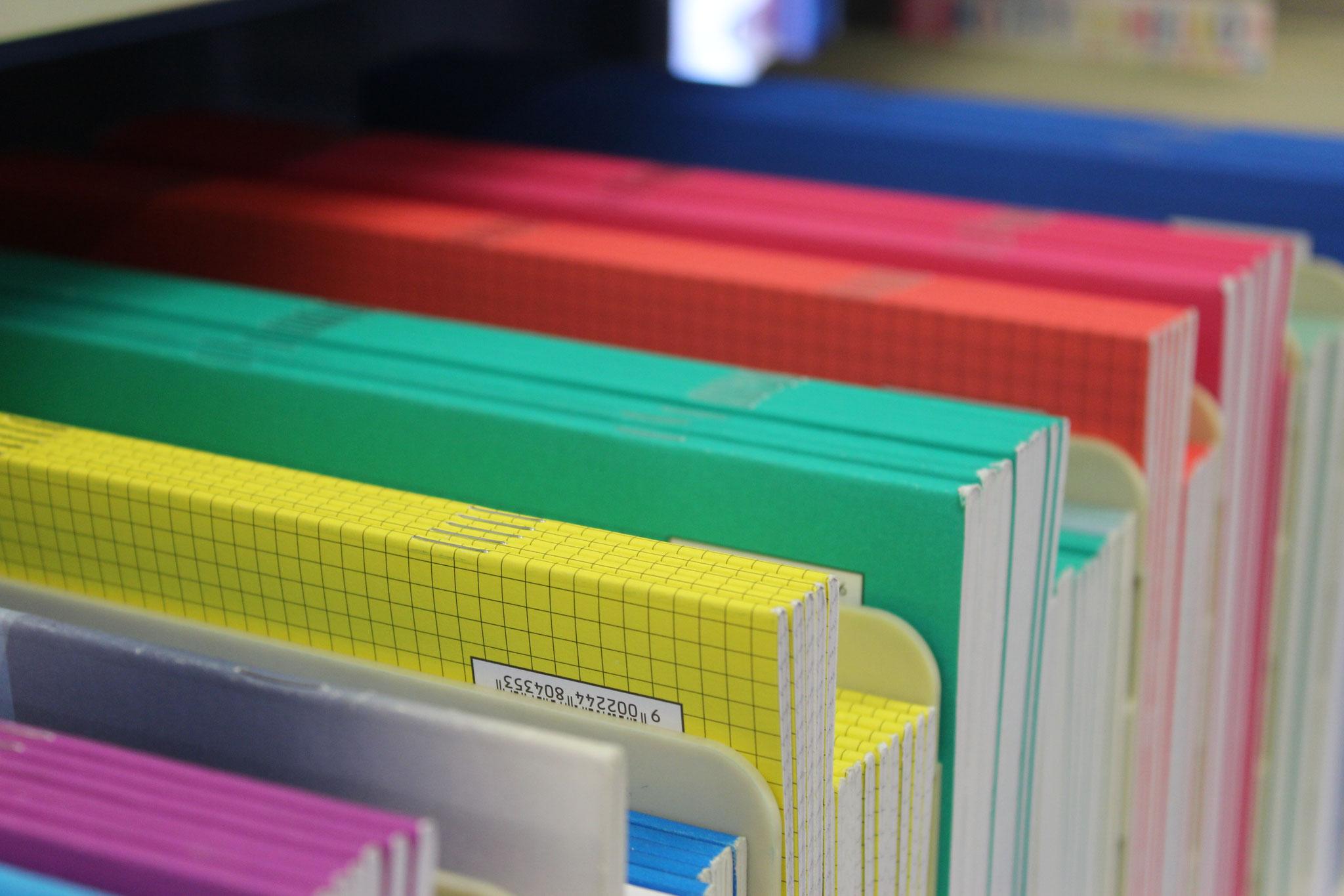 Schul-Hefte, Ringbucheinlagen und vieles mehr