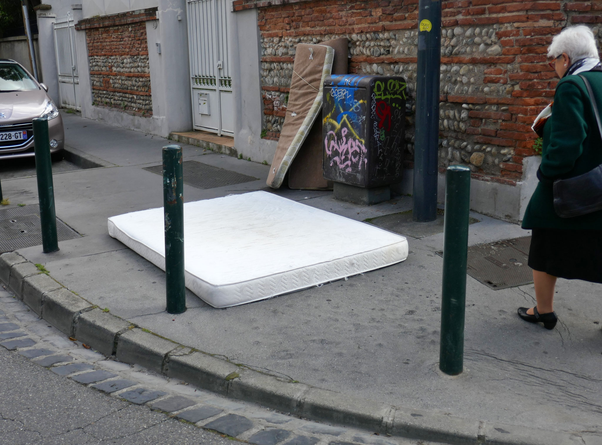 Rue des Chalets. Mai 2019