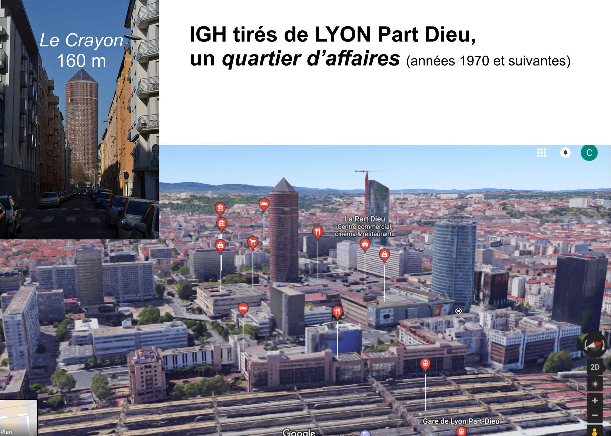 à la manière de Lyon Part-Dieu qui, depuis 1972, n'est pas un modèle d'urbanisme contrairemenet à ce qu'on peut entendre à la Mairie