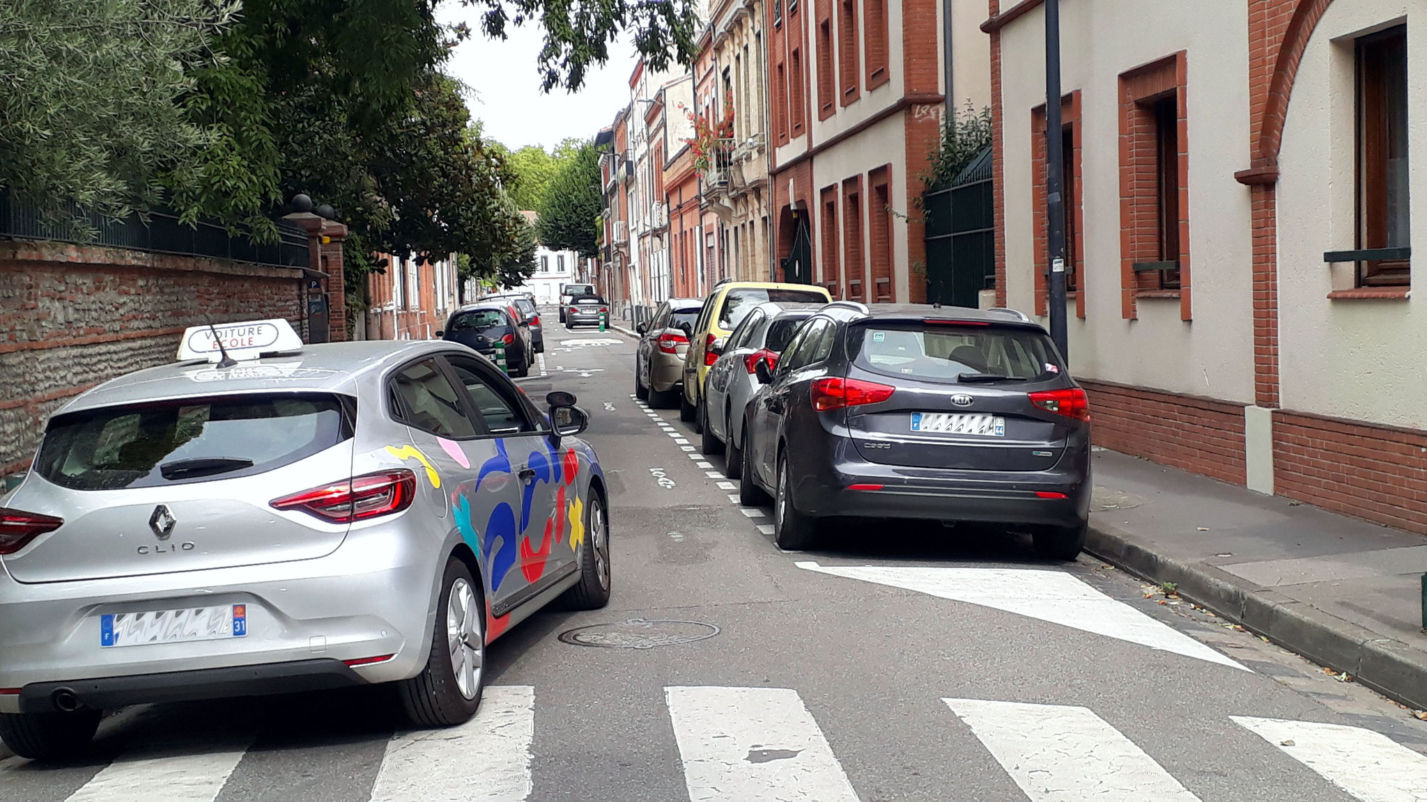 Rue Ingres, , avec chicane