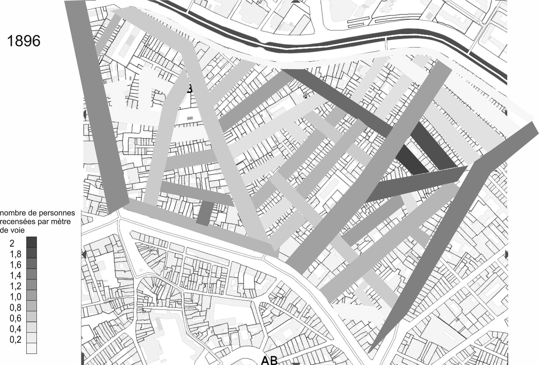 Concorde-Falguière : dernier triangle avec une population importante au cours d'opérations immobilières