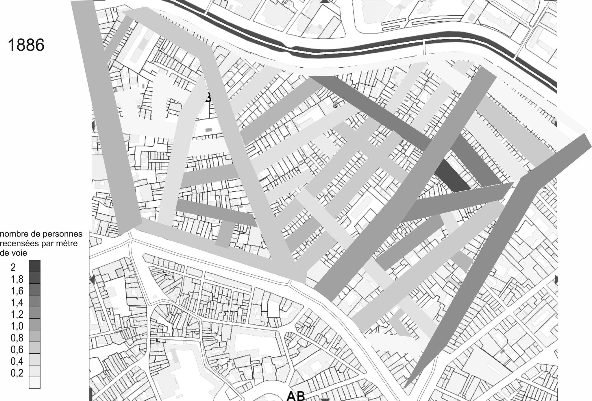 On constate une belle dynamique pour la rue du Printemps qui permet de rejoindre la rue...