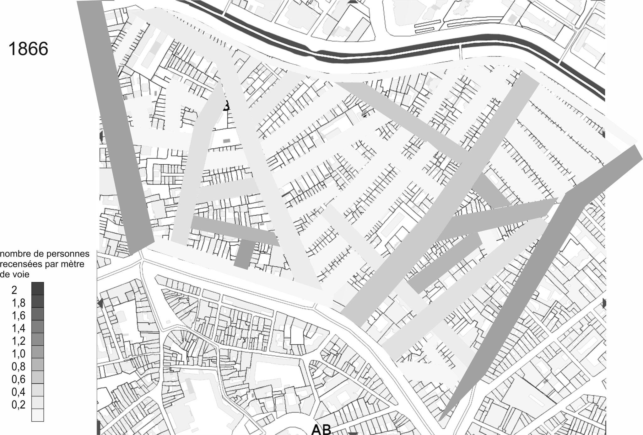 Bien que ne menant qu'au Canal, les anciens chemins ont également été construit mais à un rythme plus lent