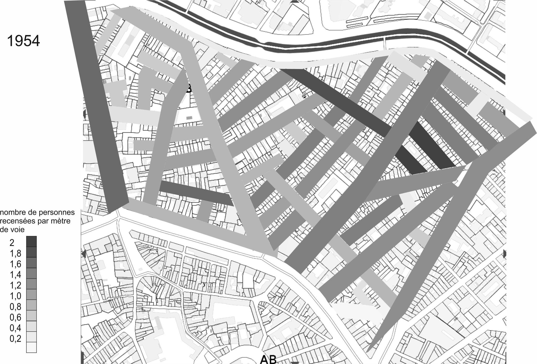 En 1951, le quartier a pratiquement sa physionomie actuelle en dehors du bord du Canal qui accueillera, dans de grands immeubles au début des années 60, les rapatriés d'Afrique du nord.