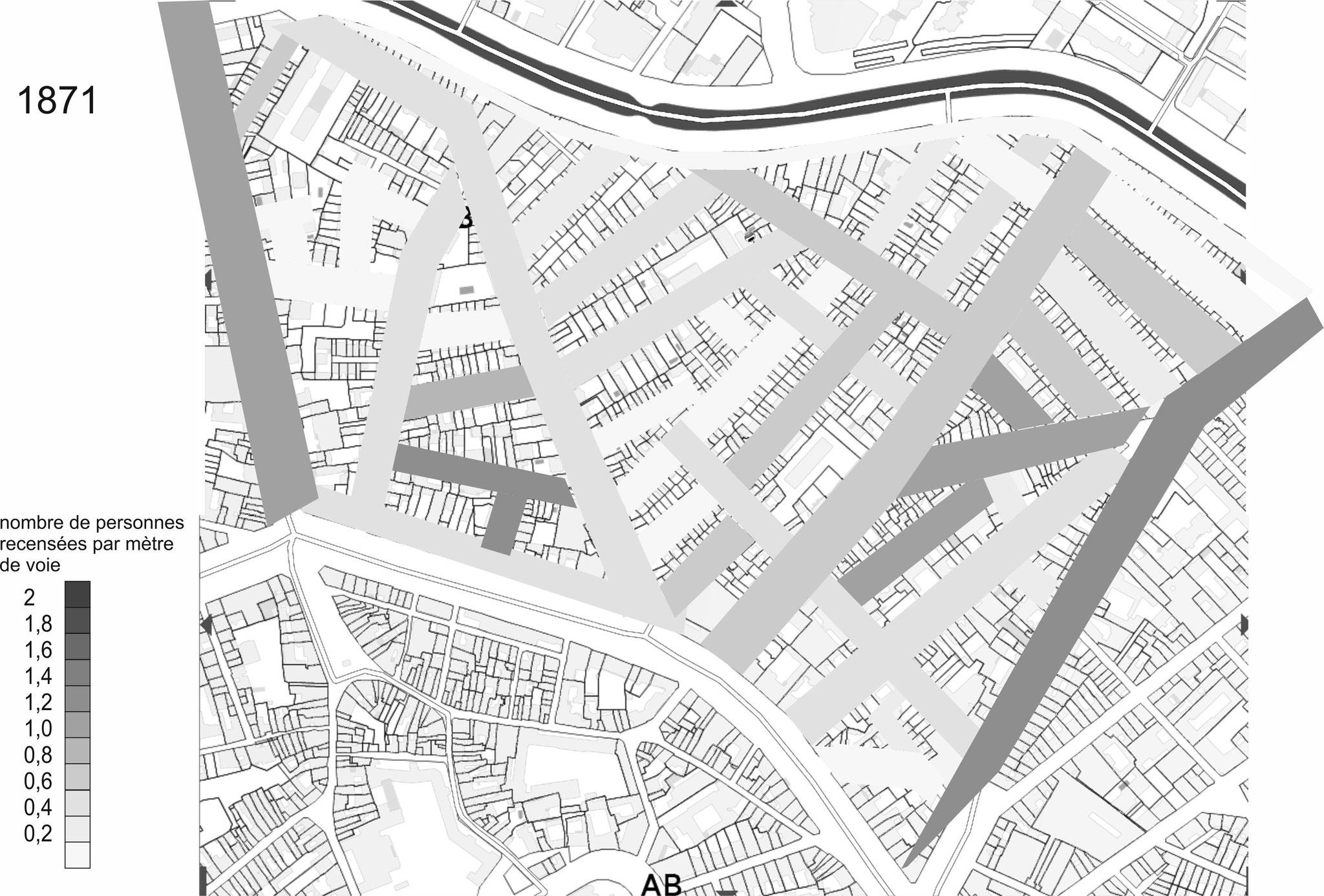 Sans rôle fonctionnel autre que résidentiel, certaines rues se remplissent grâce à des opérations immobilières