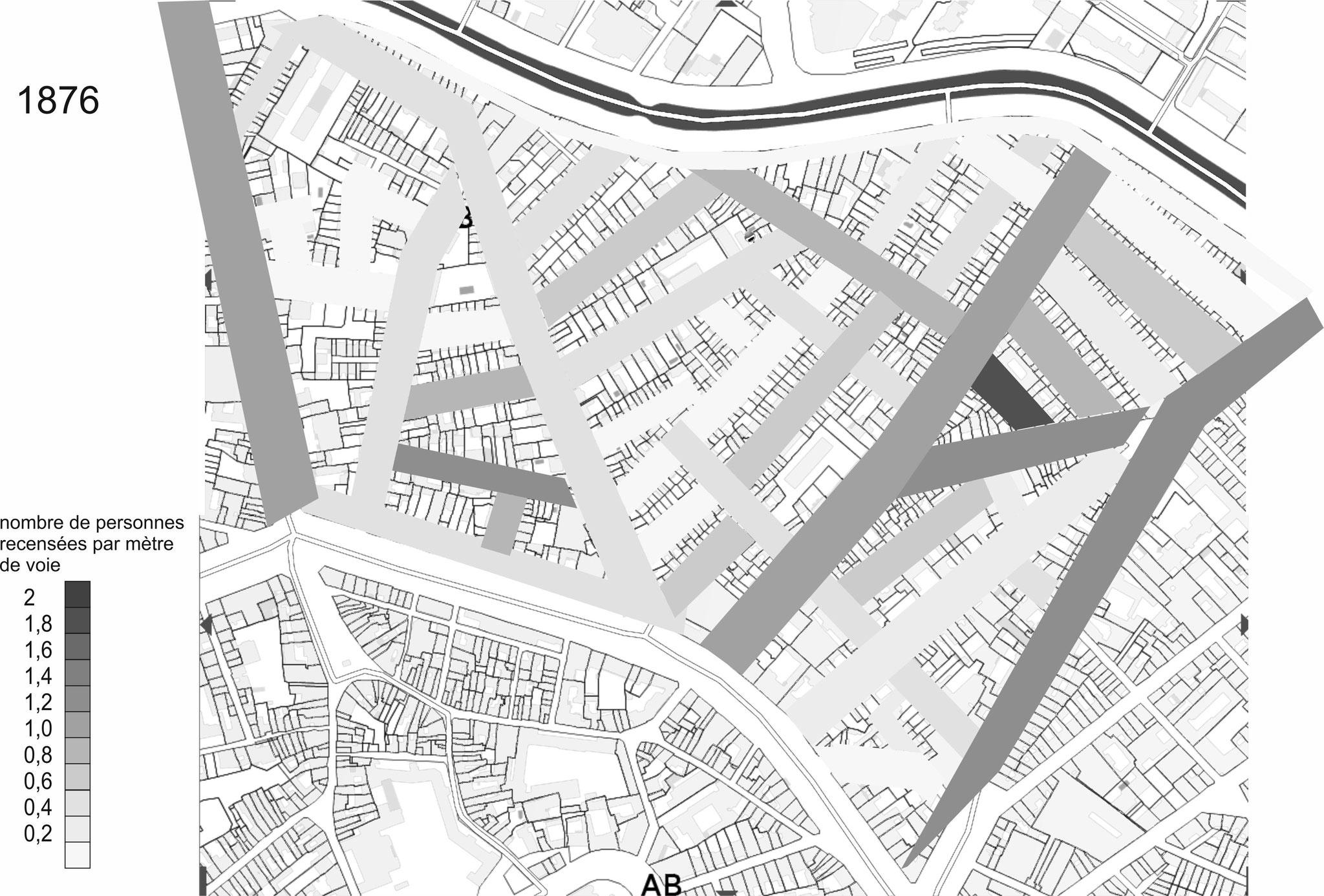 Plus proche du centre ville, la zone Concorde-Falguière se peuple ...