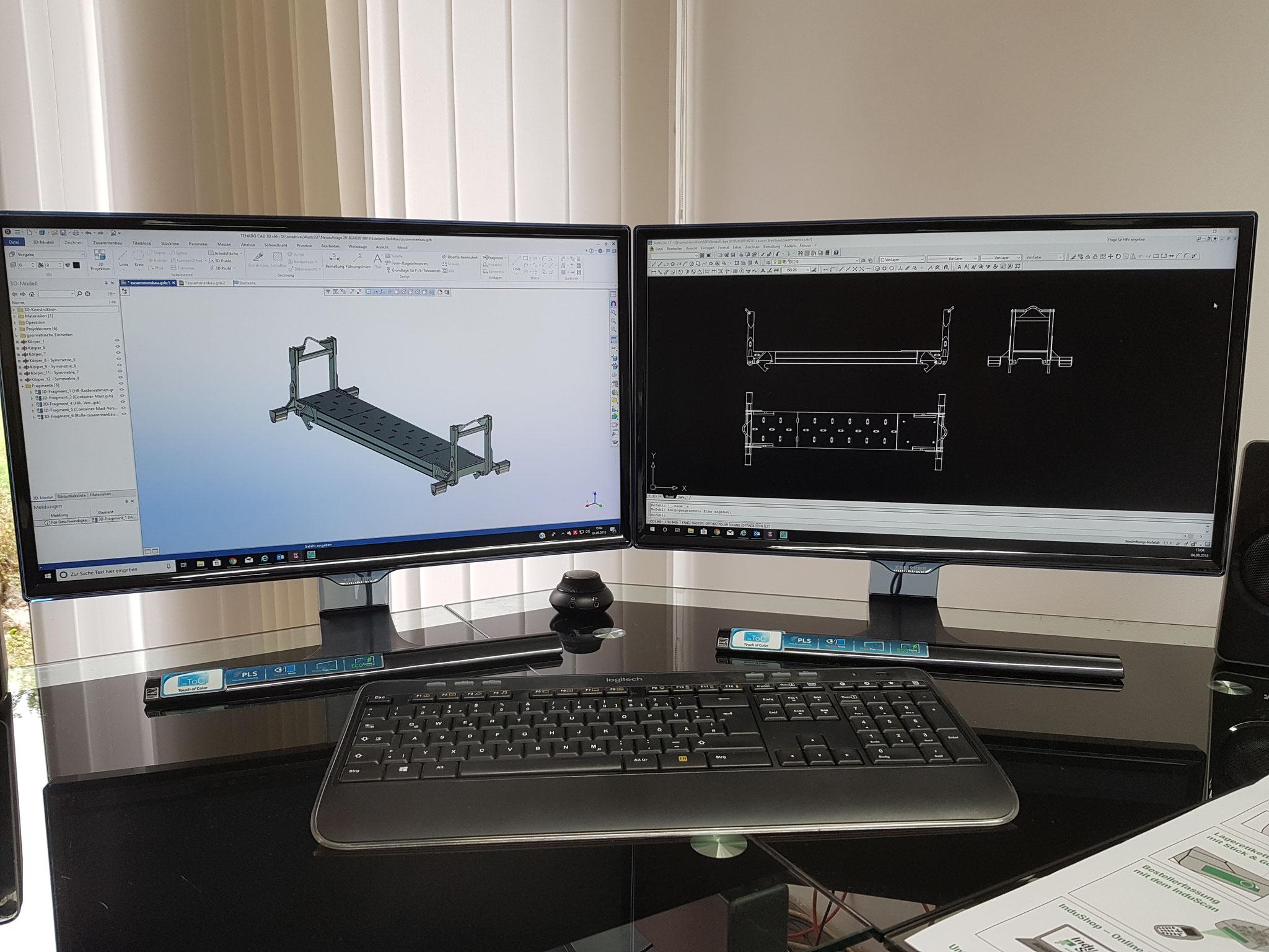 Modernste CAD Technik...