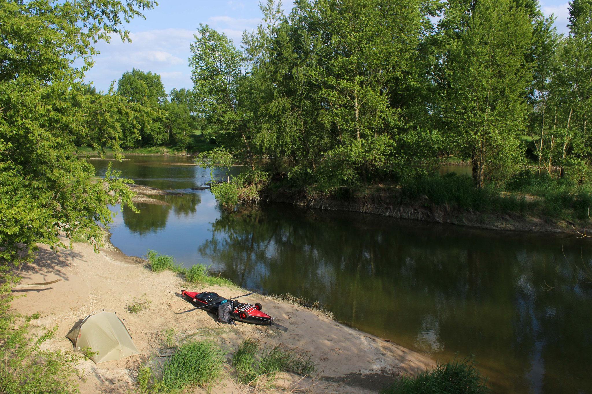 Camp an der Loire