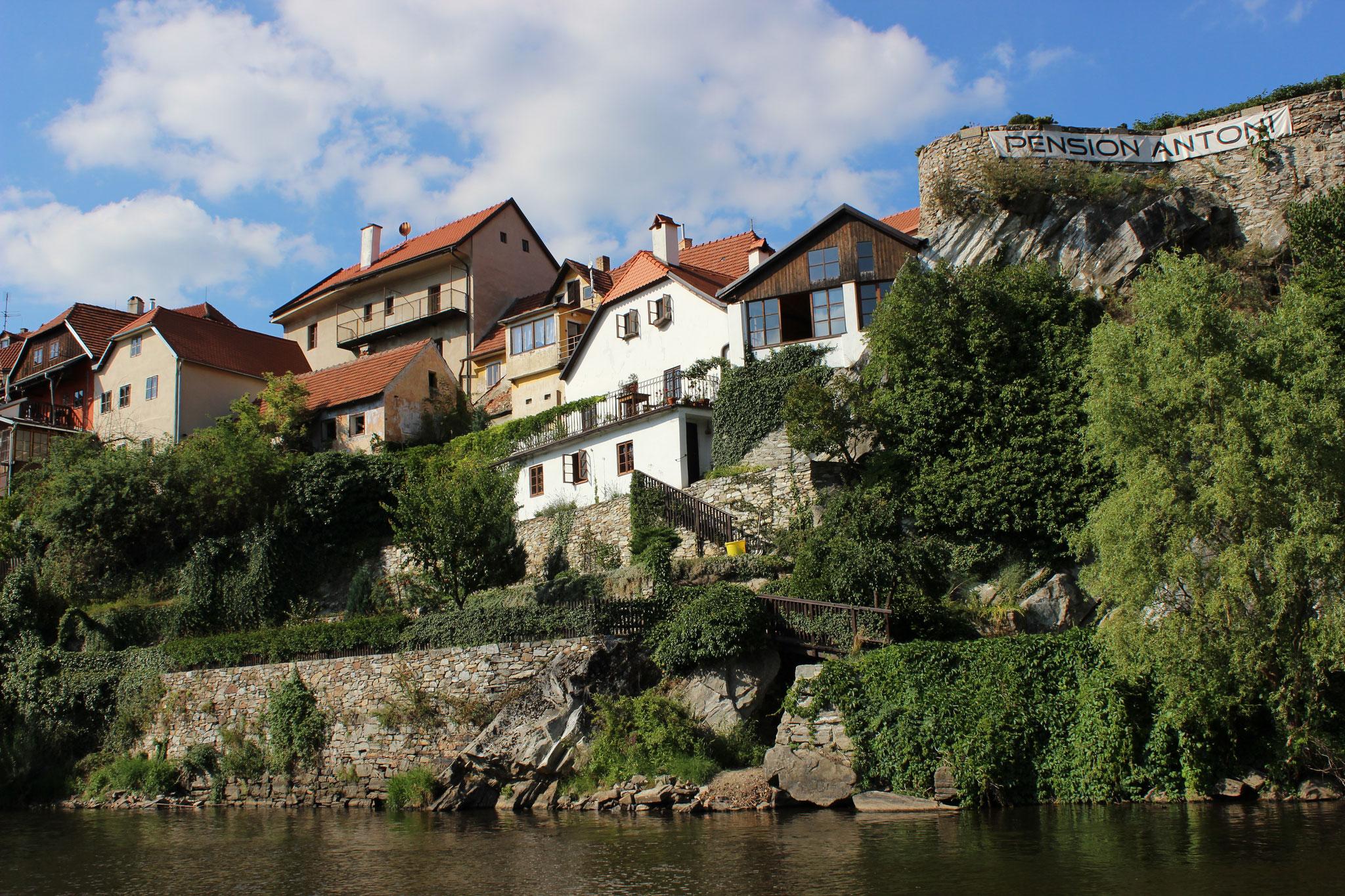 Moldau bei Český Krumlov