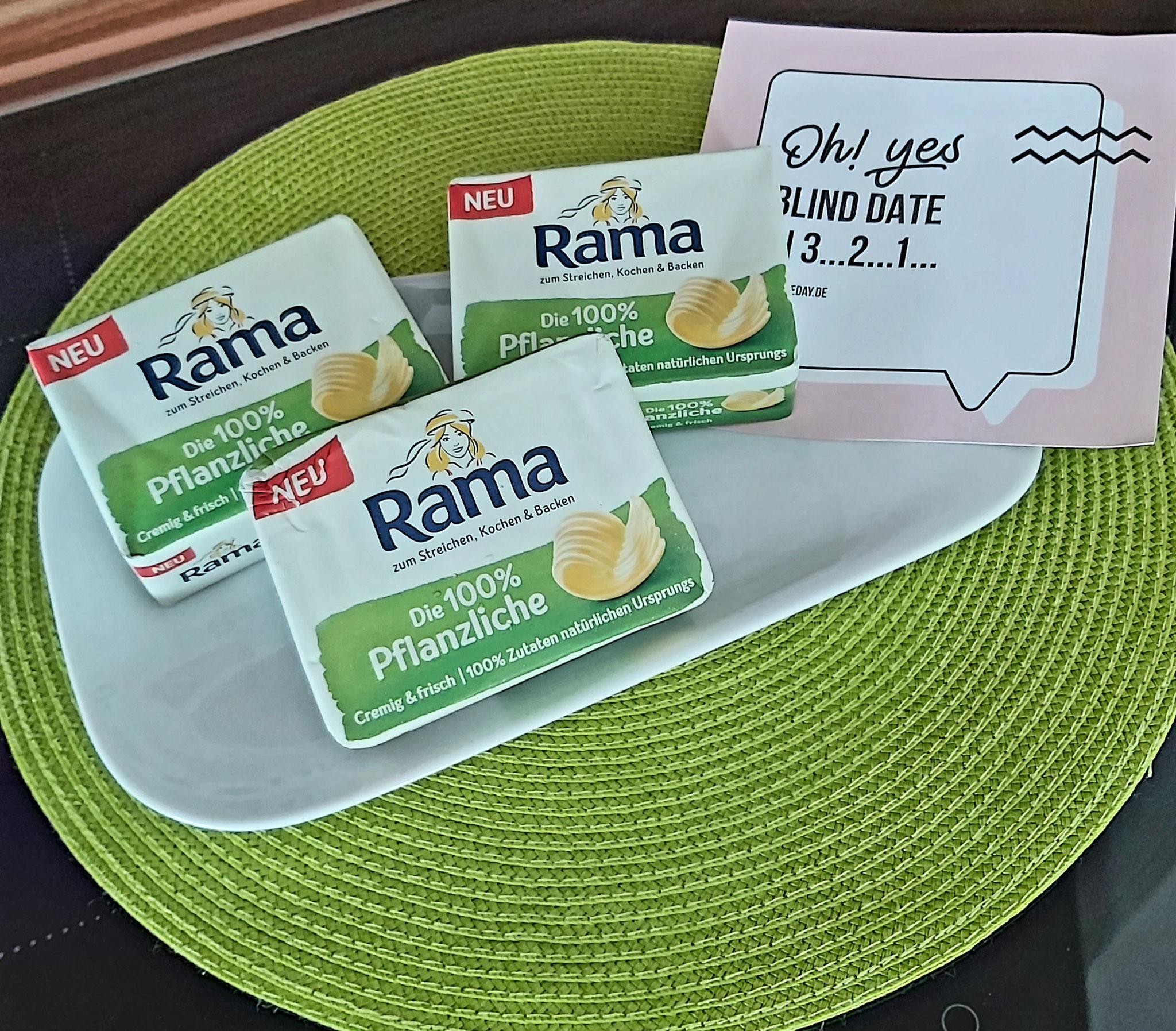 Das RAMA Paket ist angekommen.
