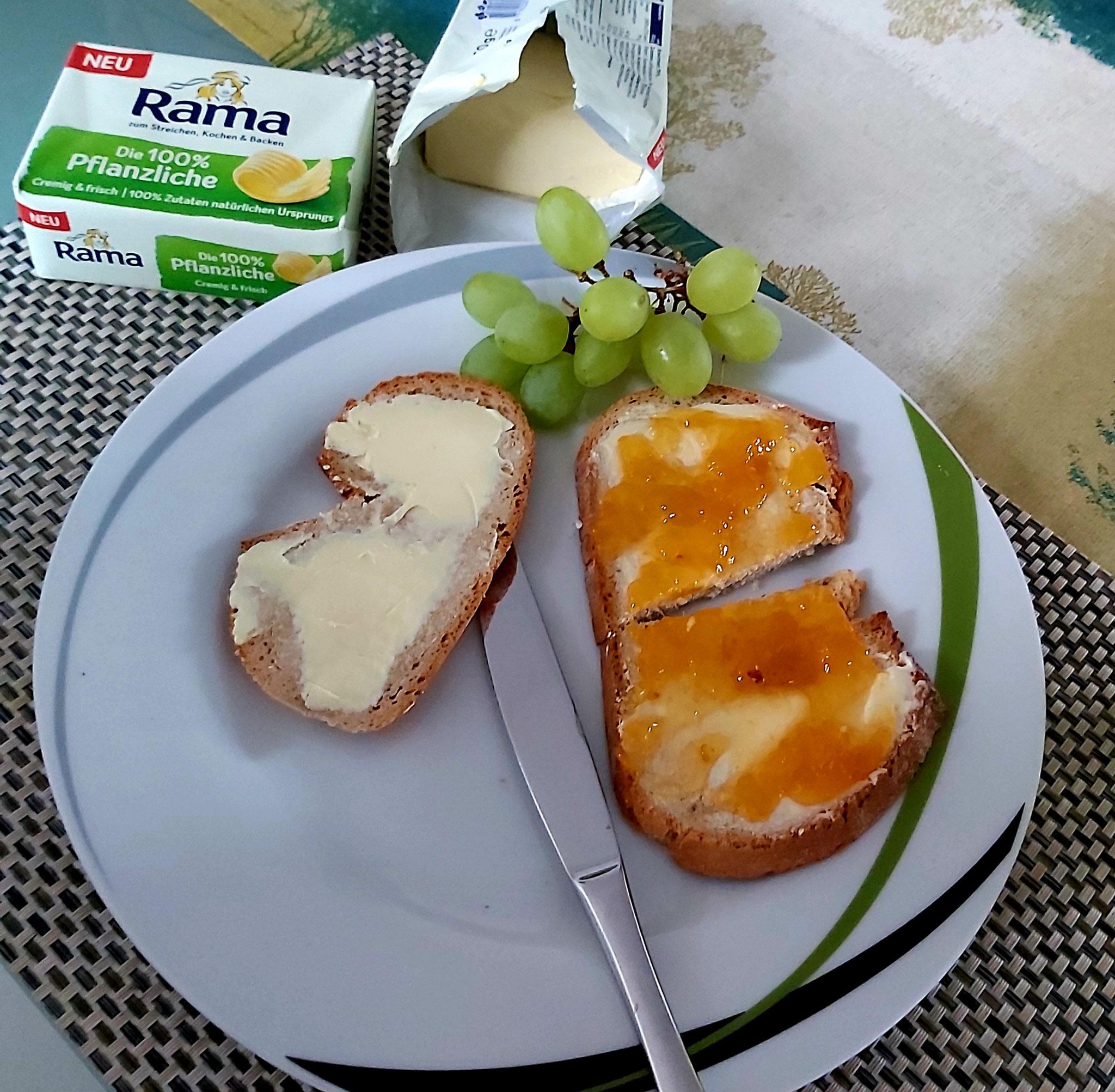 Frühstück mit der neuen RAMA