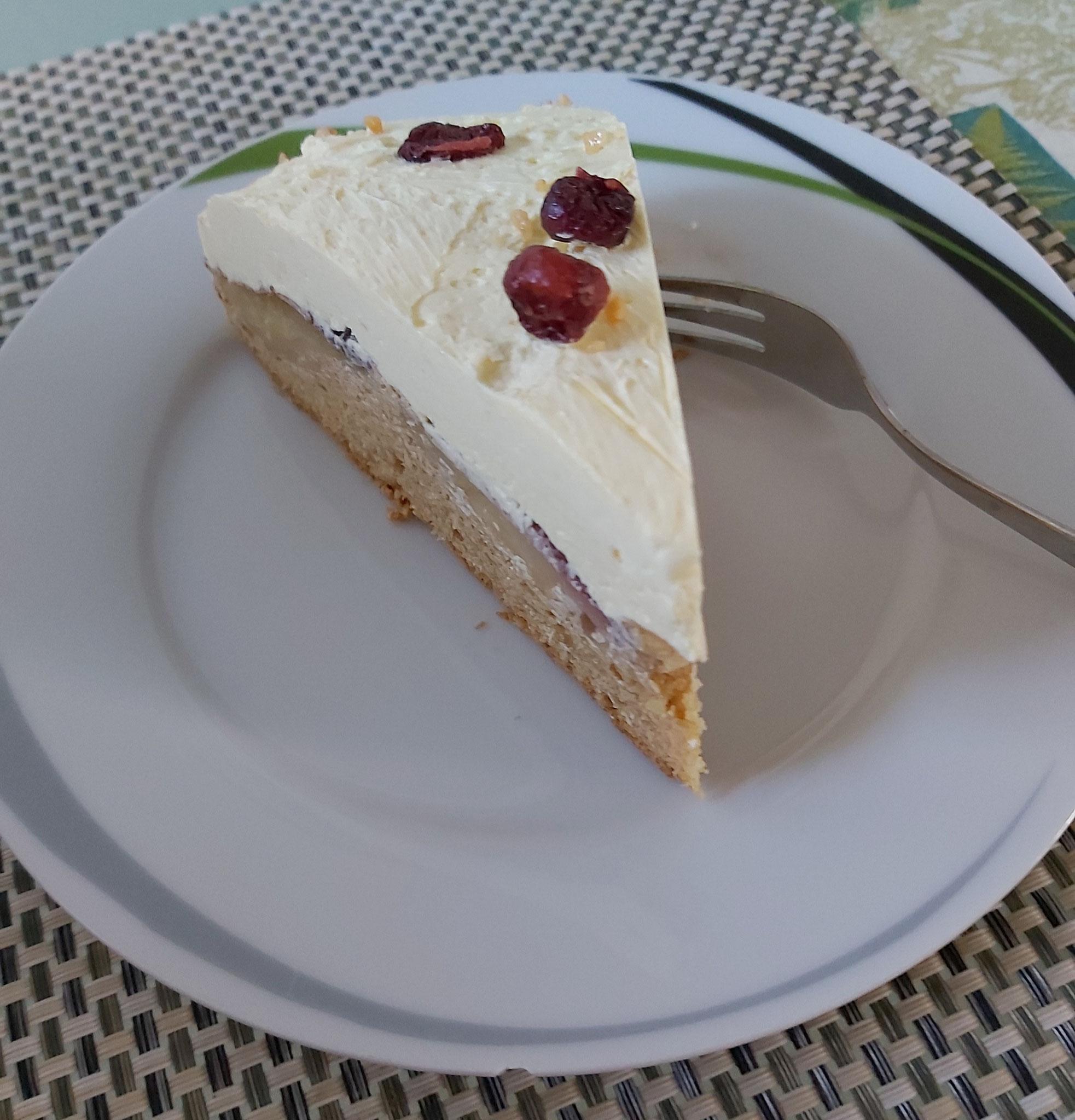 Das leckere Stück Kuchen ist für mich ;-)