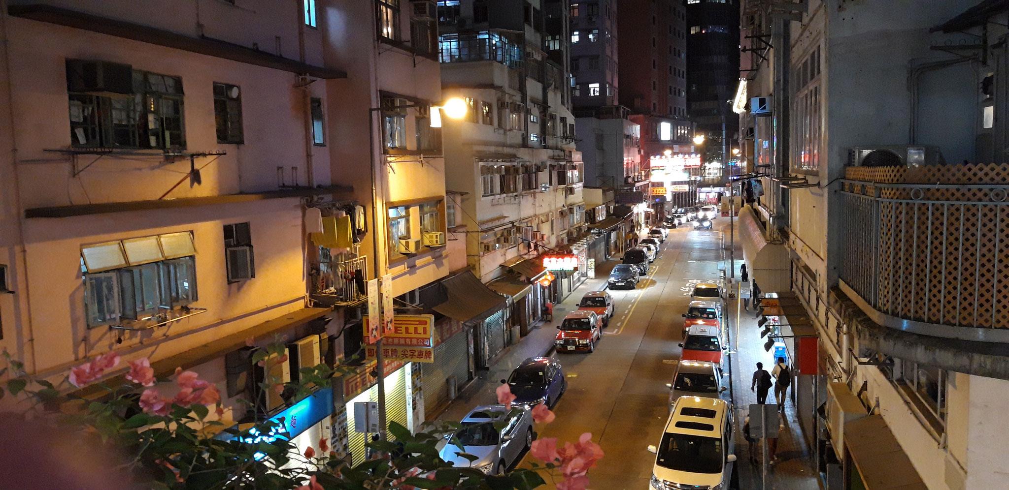 Seitenstraße in Wan Chai
