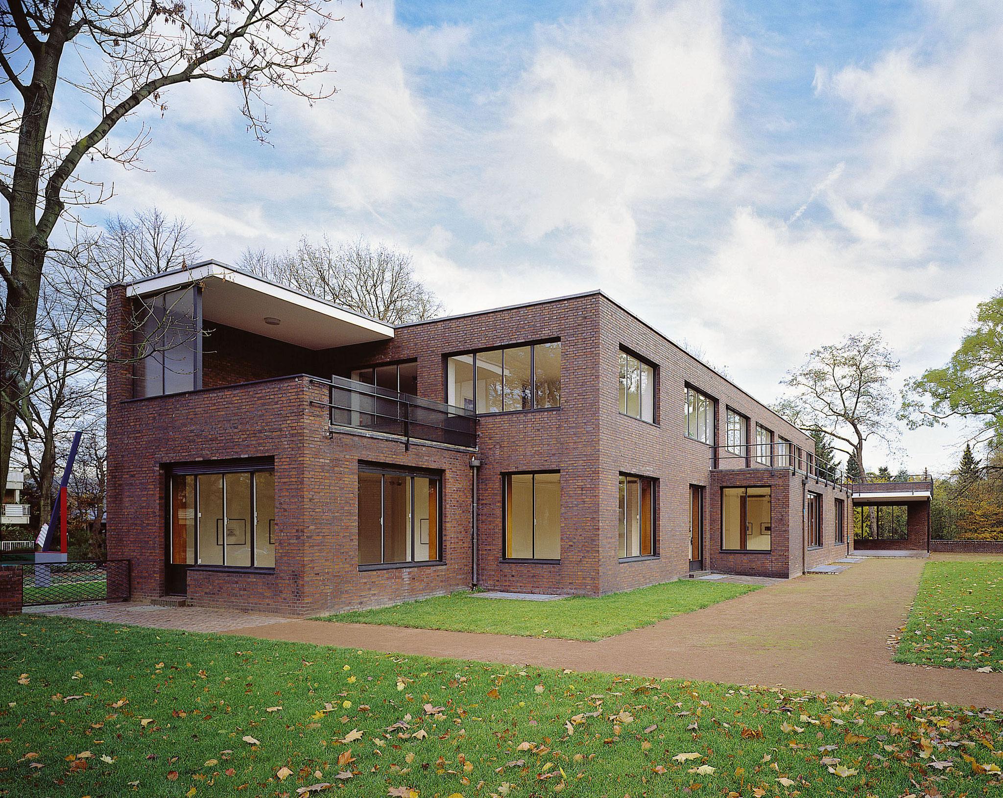 Haus Ester, Gartenseite. Foto: Volker Döhne.
