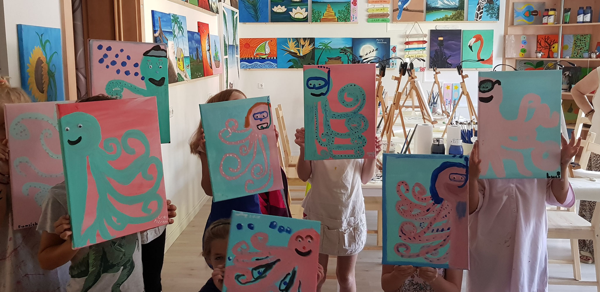 Krakenparty im Ferienprogramm