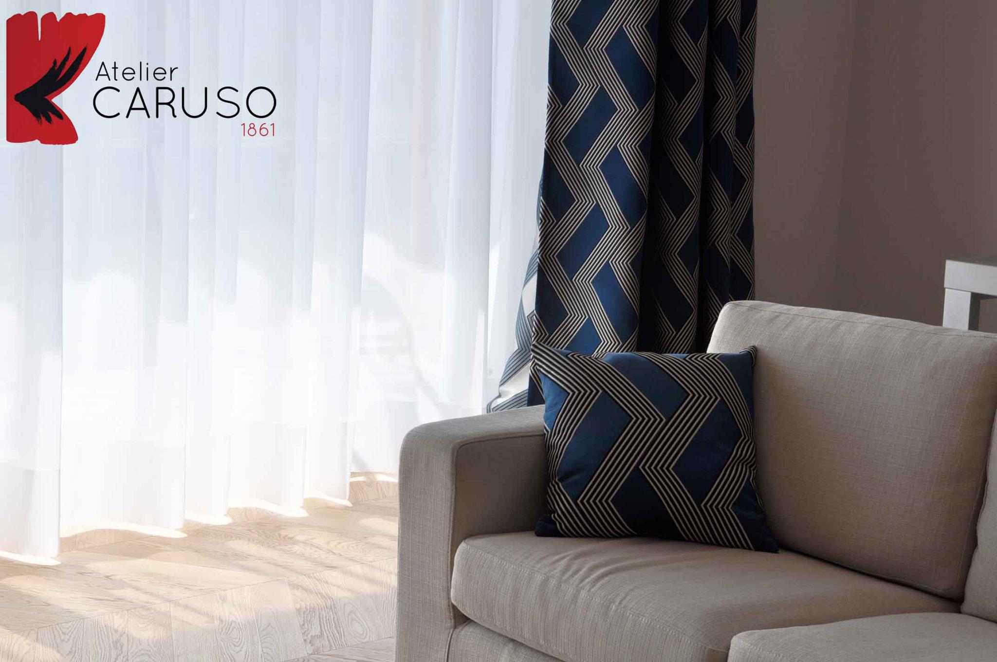 Tende moderne atelier tessuti arredamento tende tendaggi interni - Tende d arredo moderne per interni ...