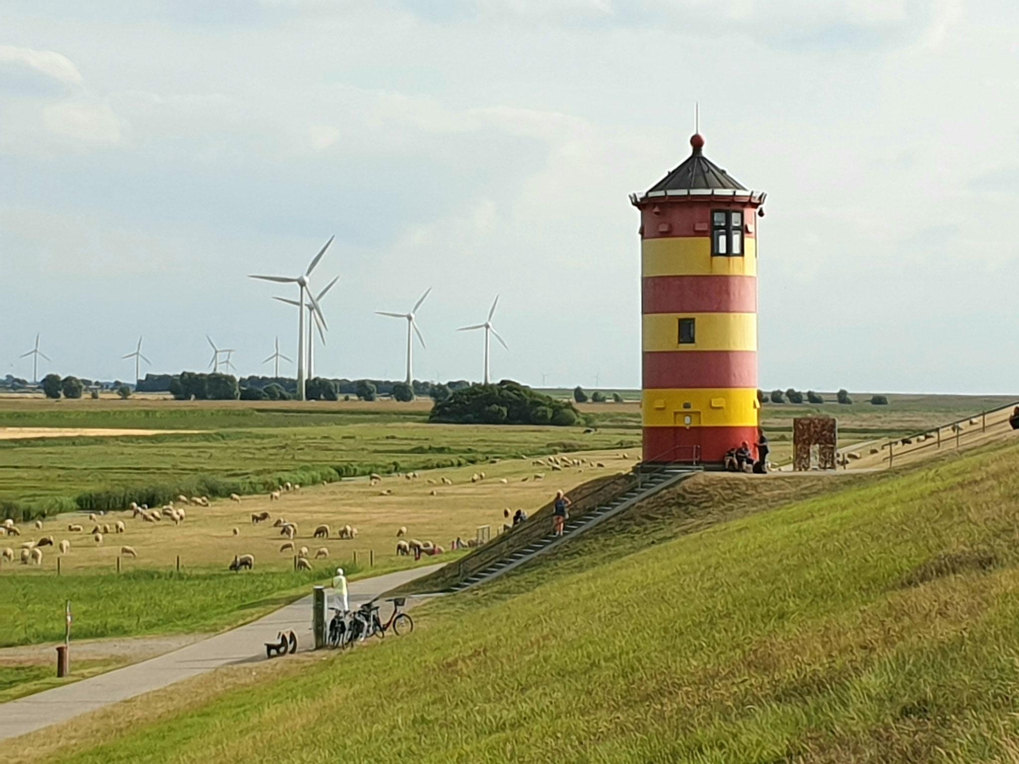 Ausflugsziel: Pilsumer Leuchtturm, ca. 23 km von der Fewo