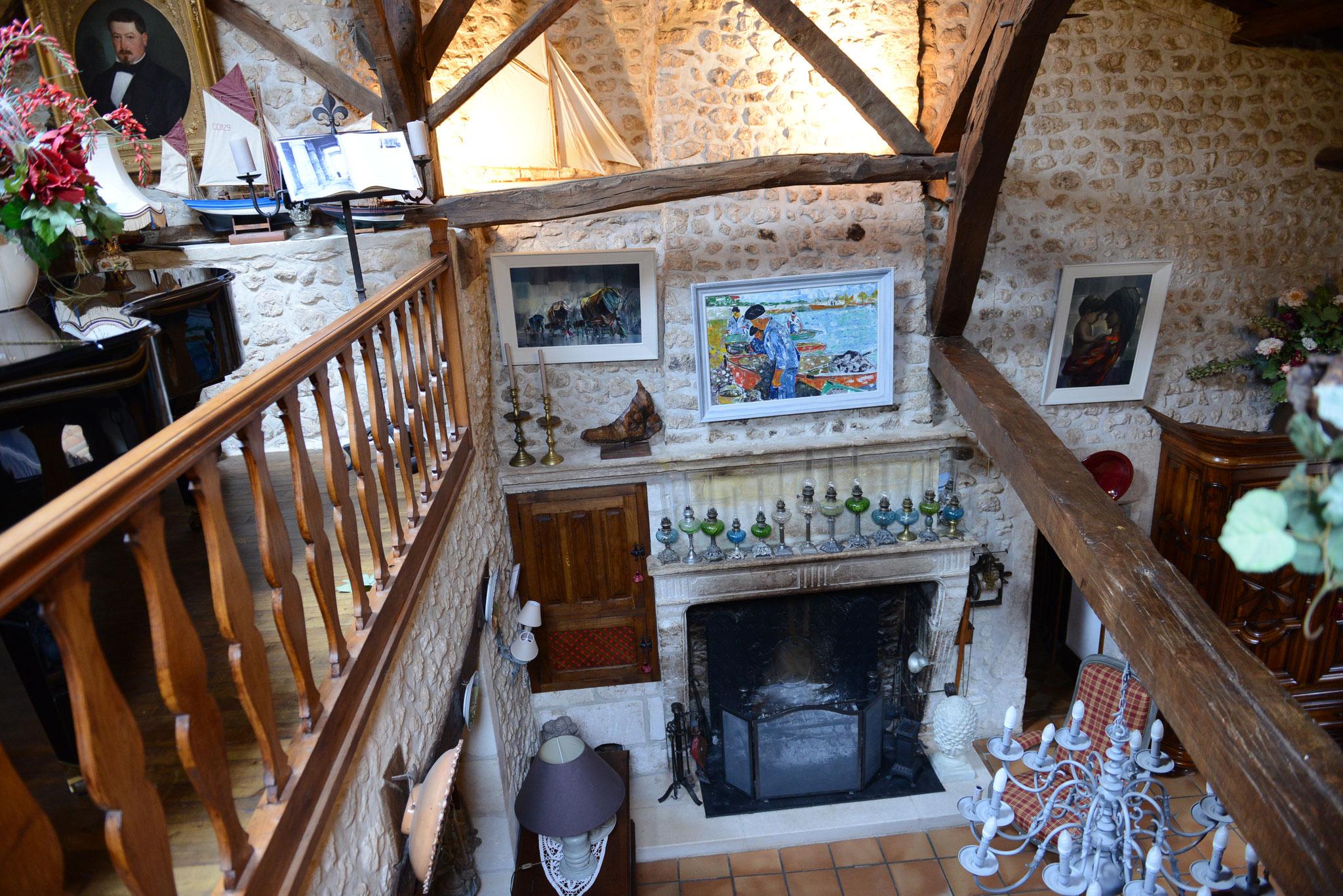 La grande cheminée du XVIIème