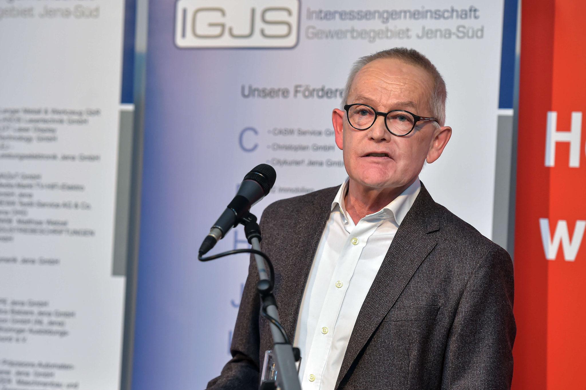 Gastredner Prof. Dr. Evehard Holtmann