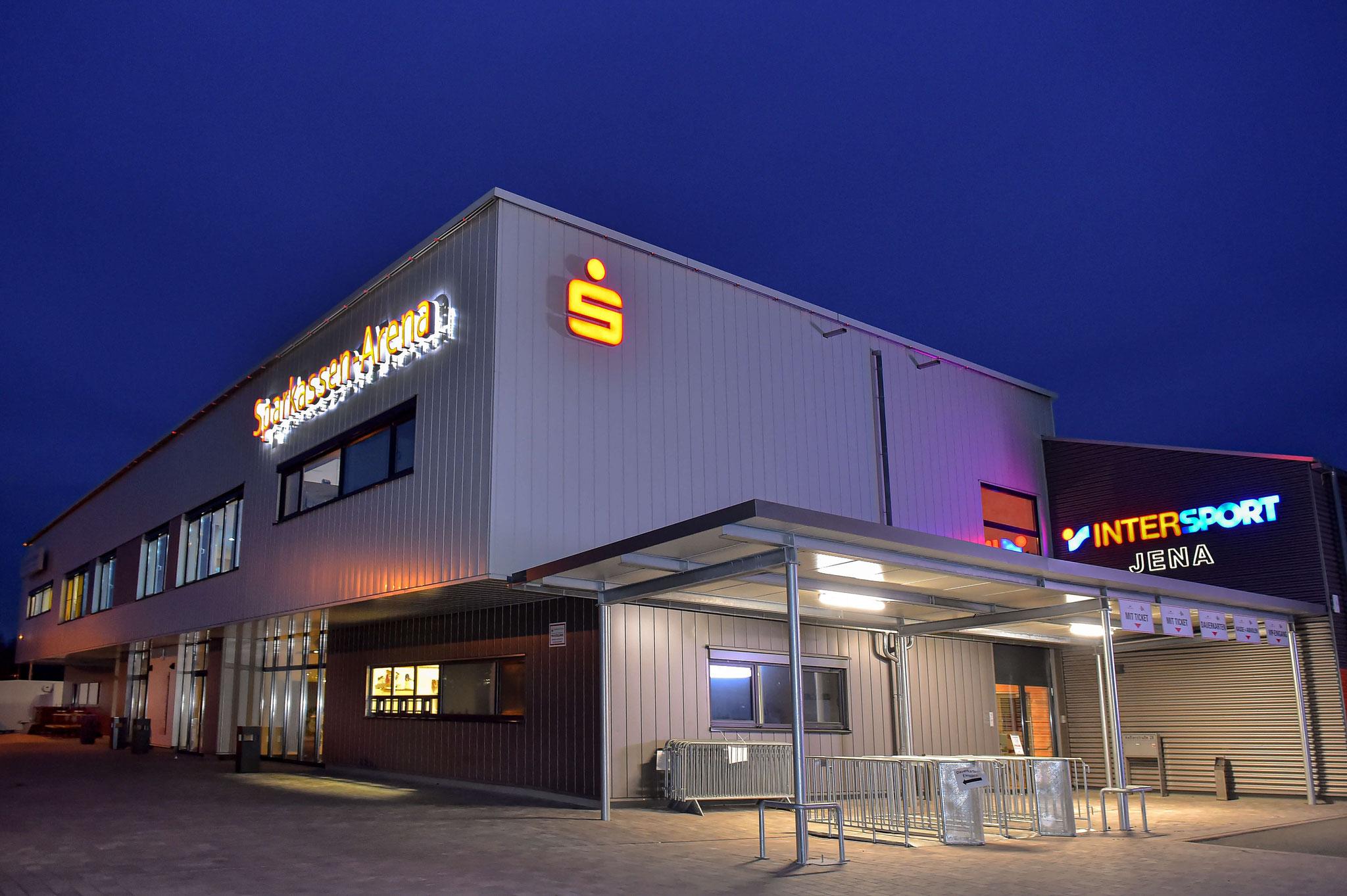 Veranstaltungsort Sparkassenarena Jena