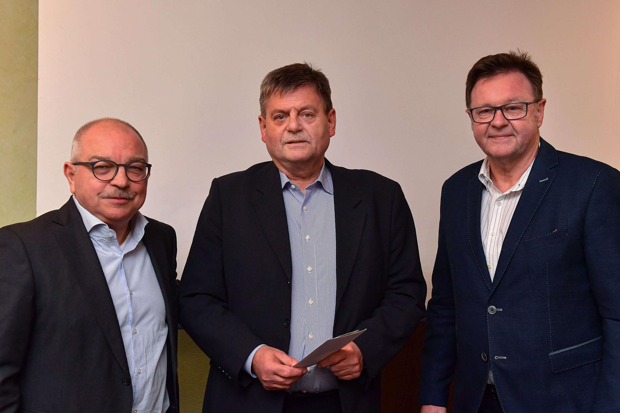 Verabschiedung Dr. Jürgen Meyer als Vorstandsmitglied der IGJS