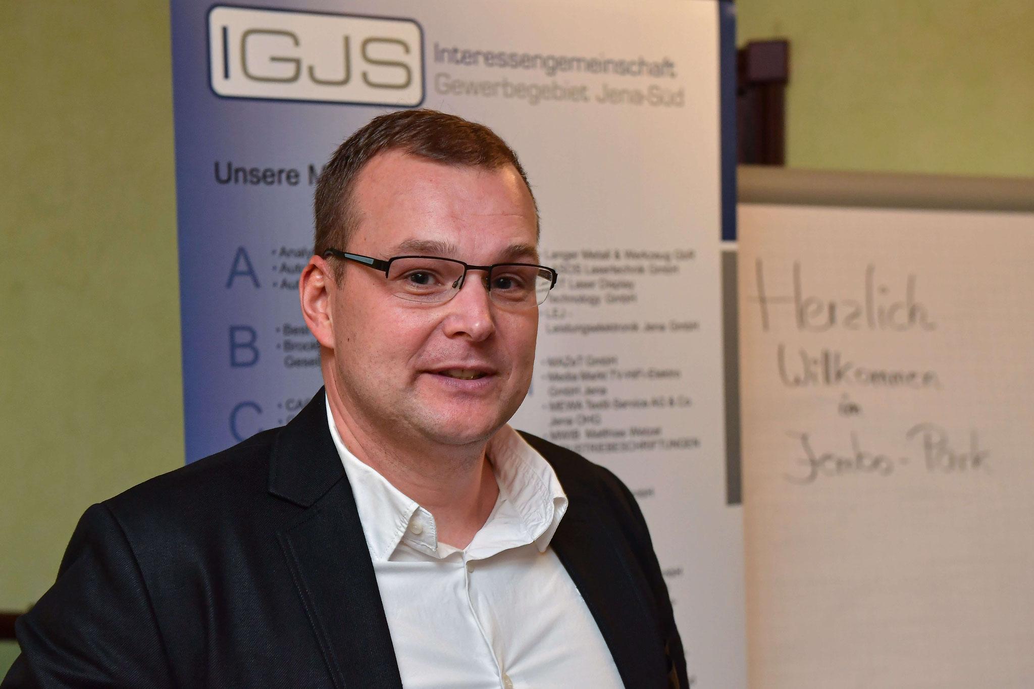 Andreas Steps (SOMAG AG) - neues Vorstandsmitglied der IGJS