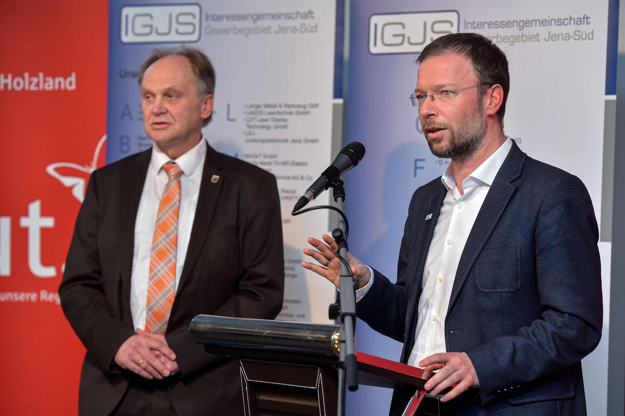 Ansprache Oberbürgermeister der Stadt Jena - Dr. Thomas Nitzsche