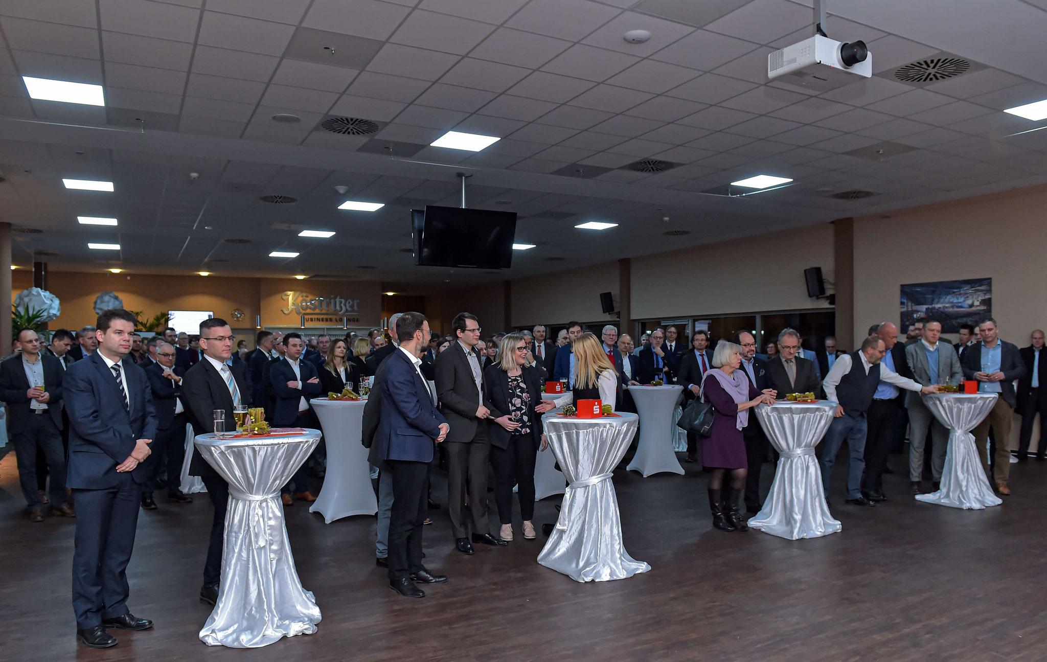 Zahlreiche Gäste waren zum Neujahrsempfang gekommen