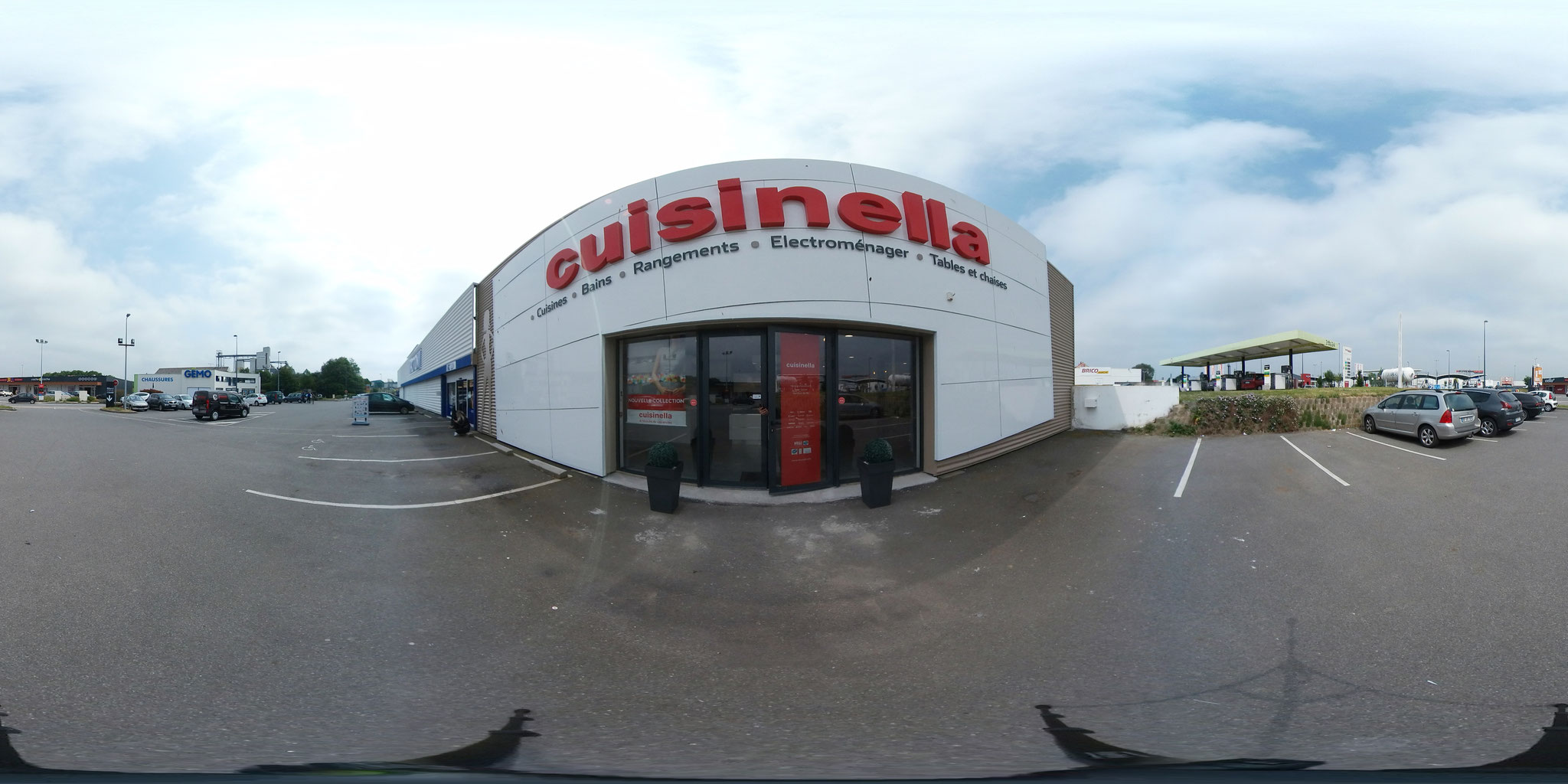 CUISINELLA QUIMPER GOOGLE STREET VIEW