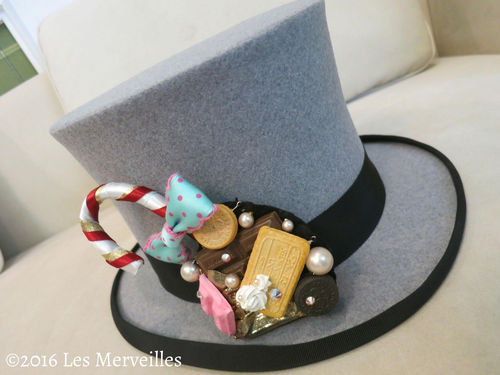 チョコレート帽子飾り