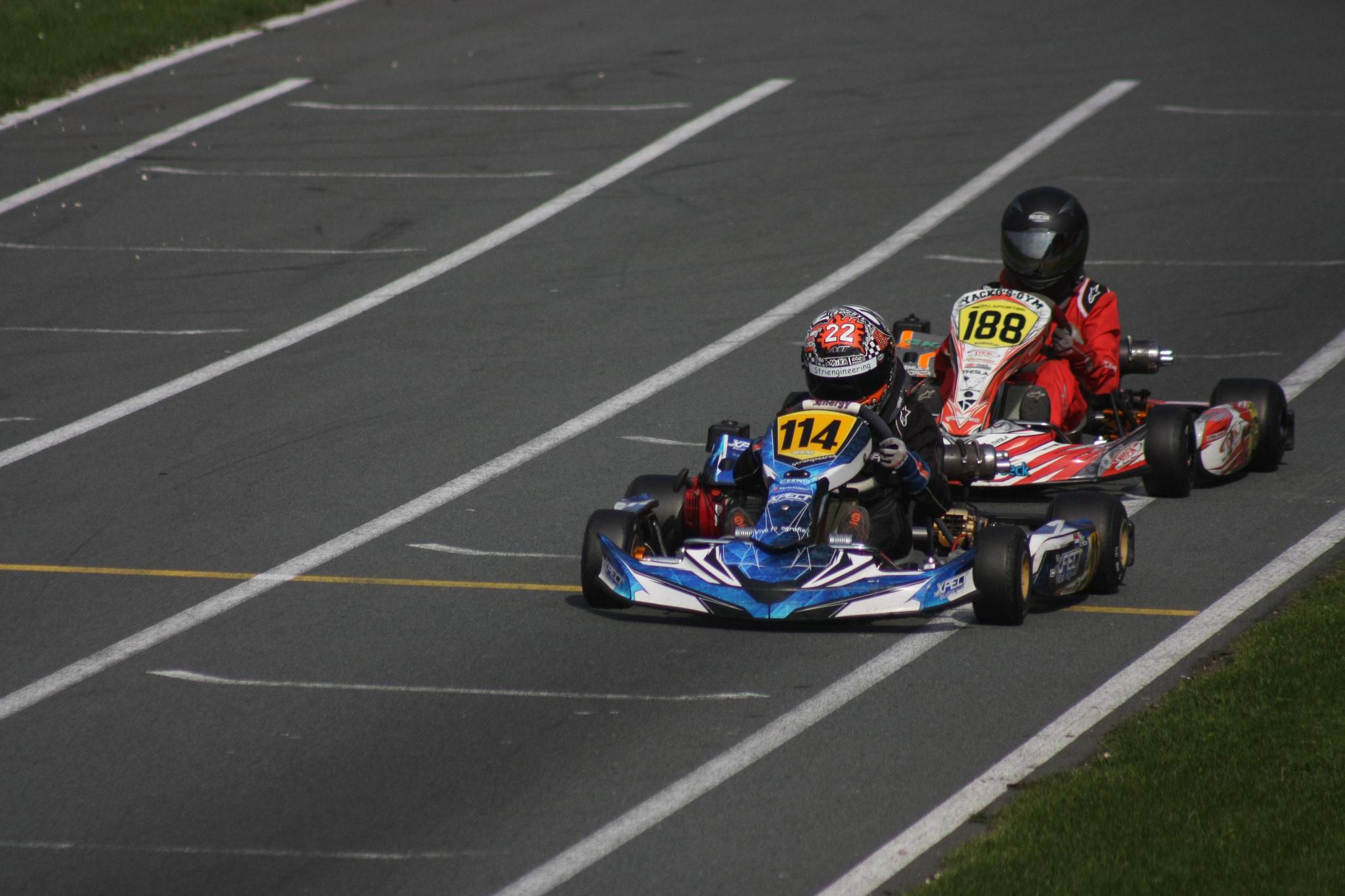 Kwalificatie race 1