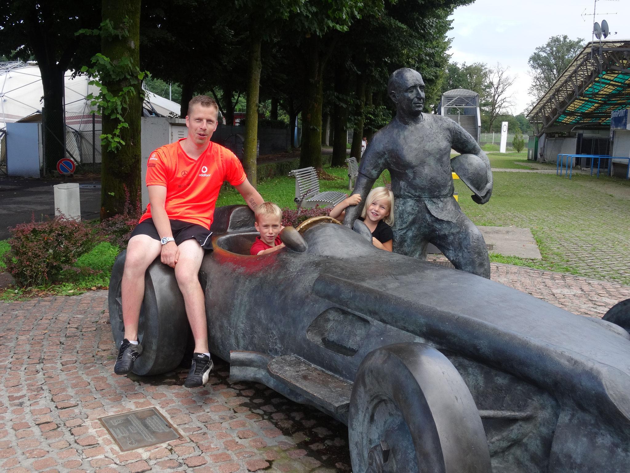 2014: Circuit Monza bezocht