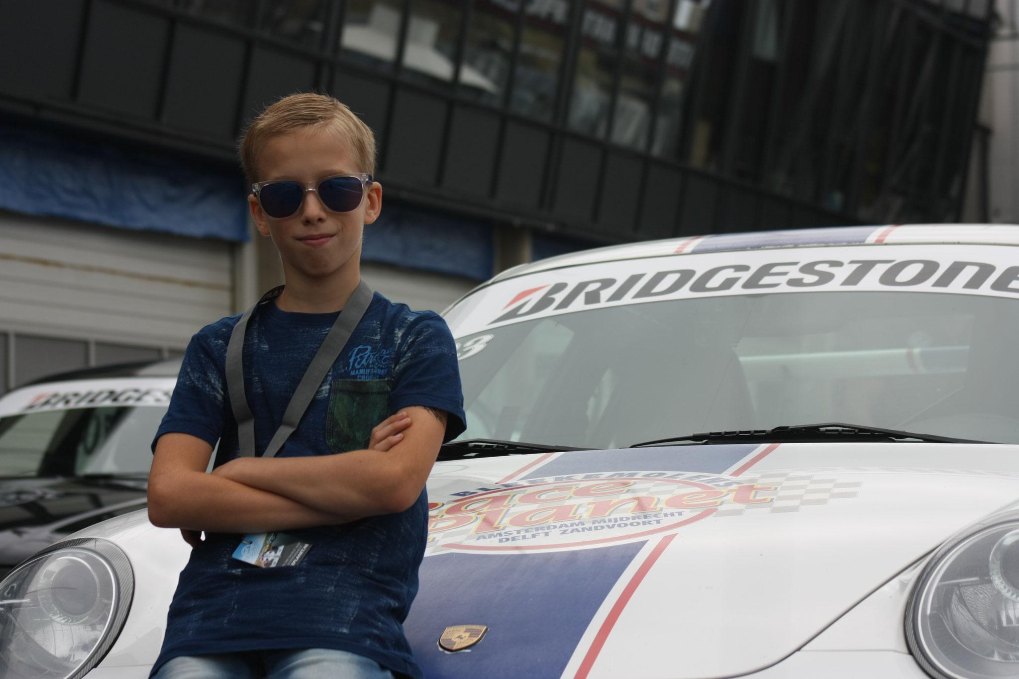 2018: Zelf rijden op Circuit Zandvoort in een Porsche en McLaren.