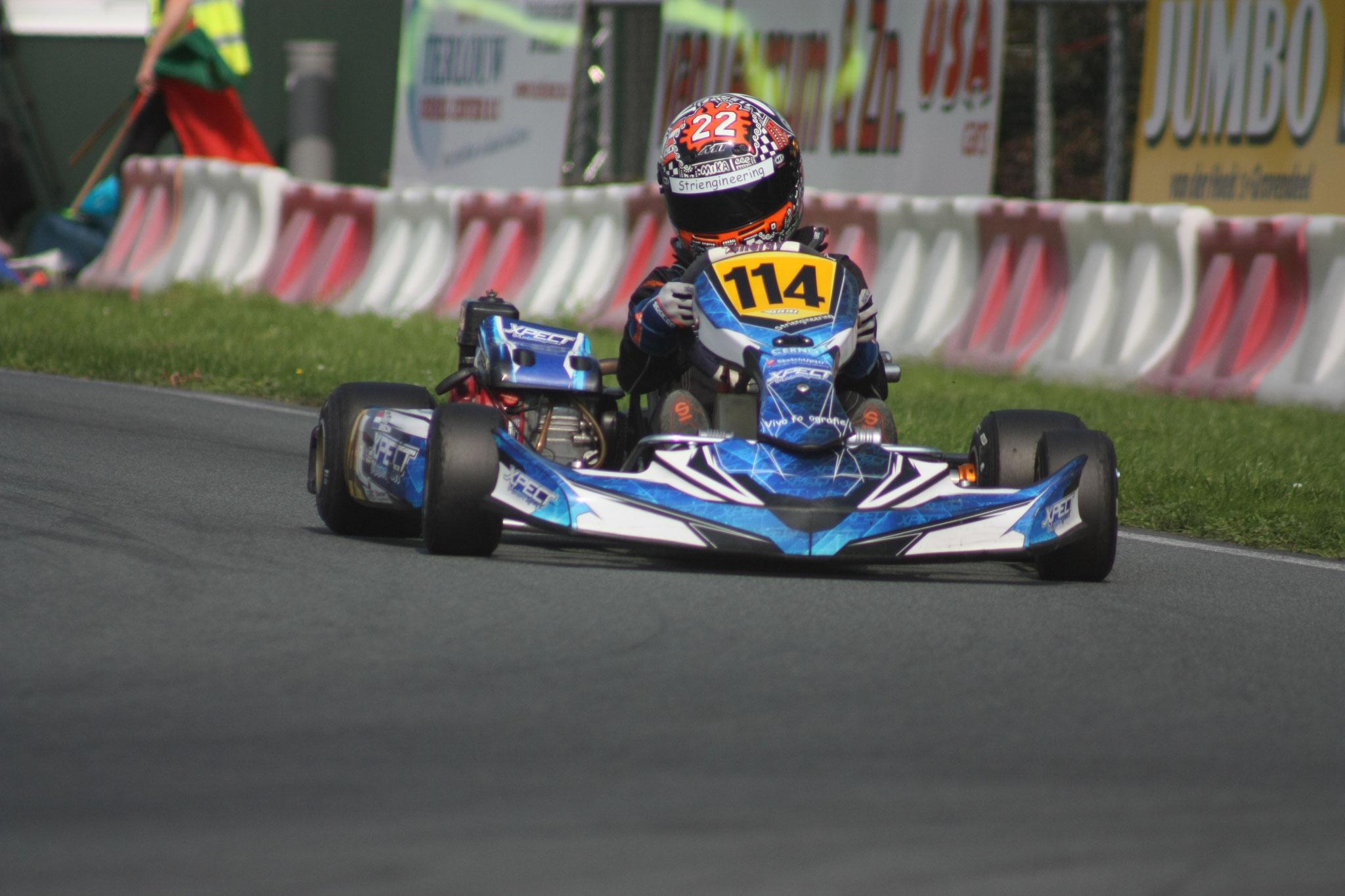 Kwalificatieronde race 2