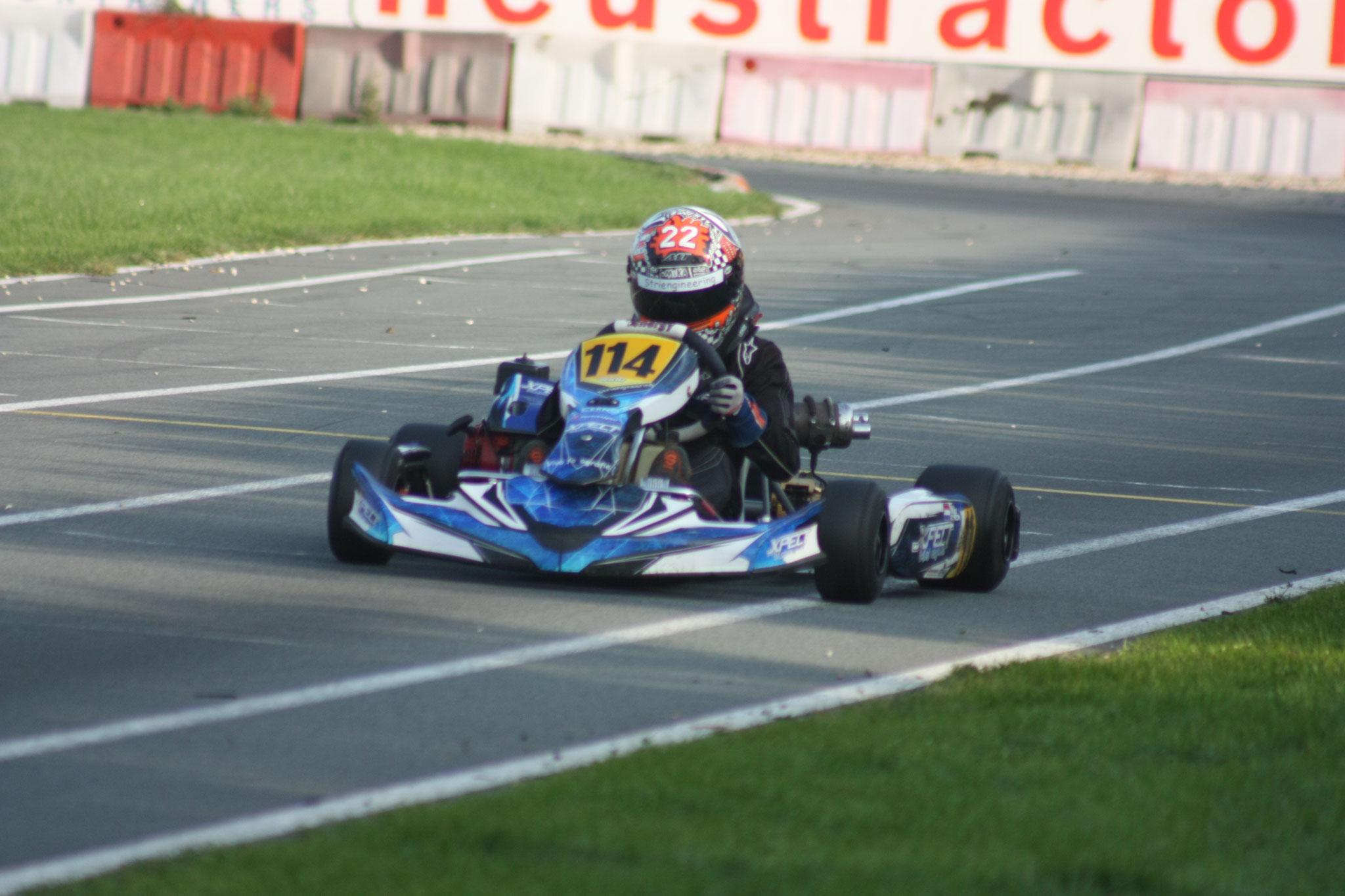 Kwalificatieronde race 1