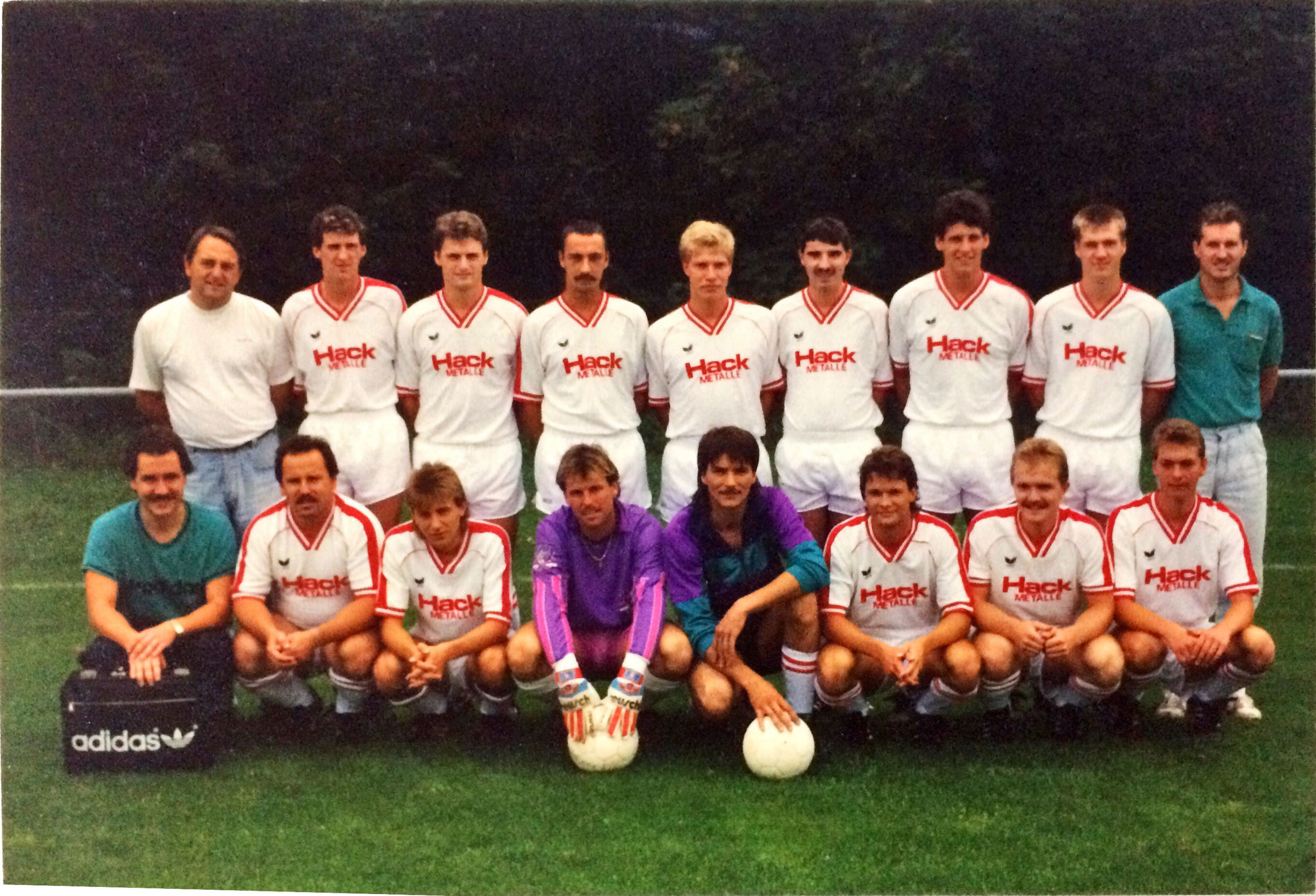 1. Mannschaft - Saison 1989 / 1990