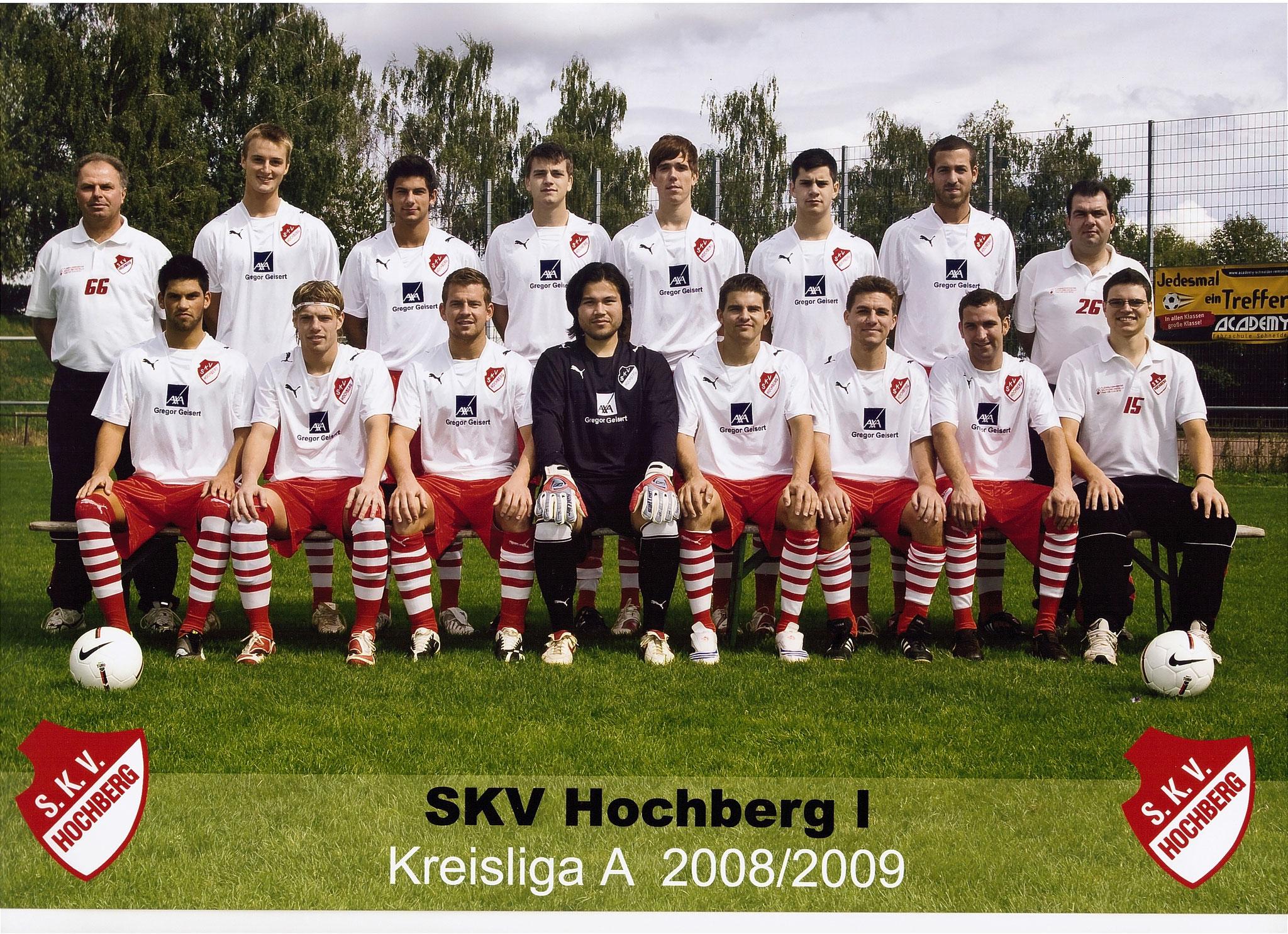 1. Mannschaft - Saison 2008 / 2009