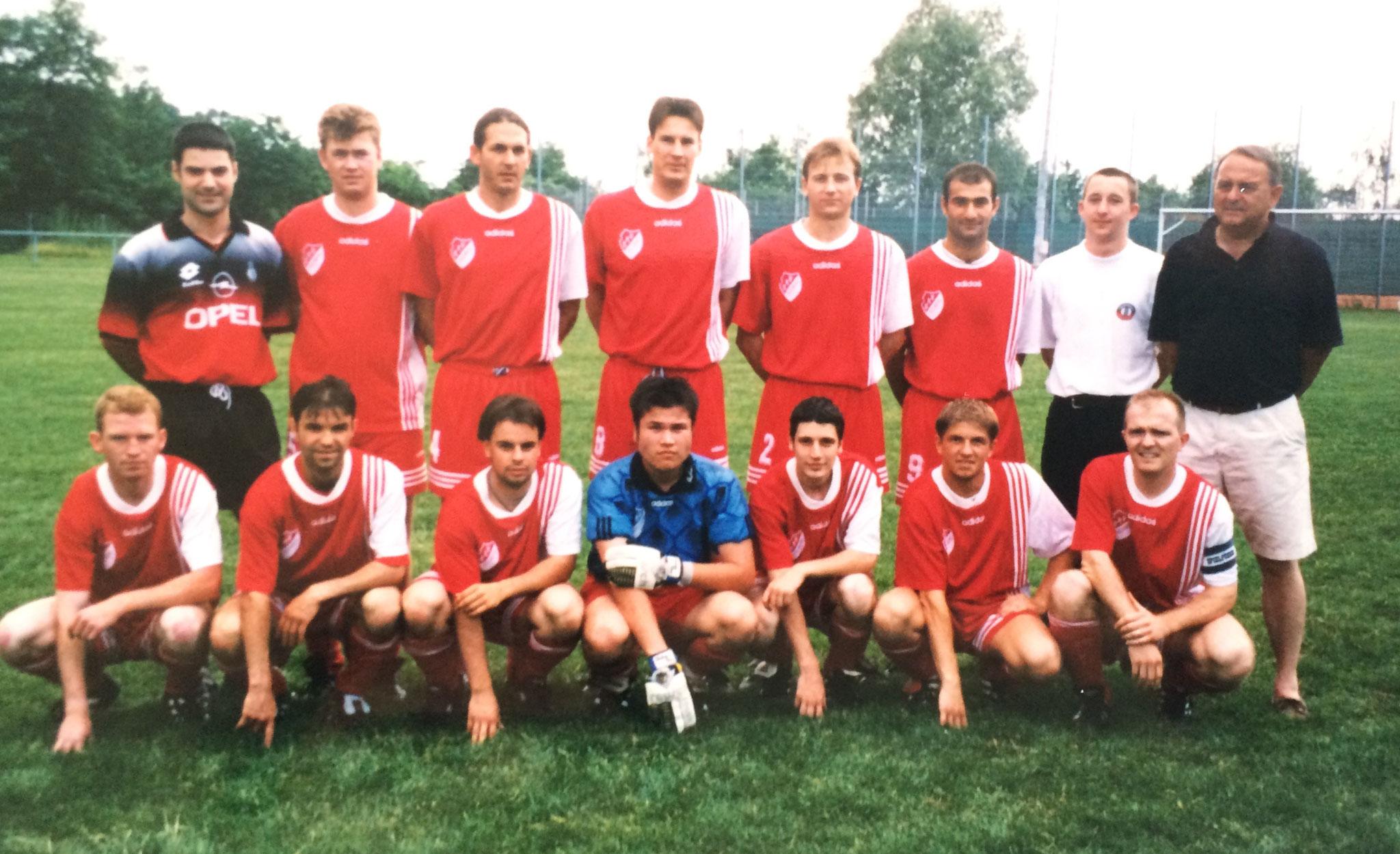 1. Mannschaft - Saison 1998 / 1999