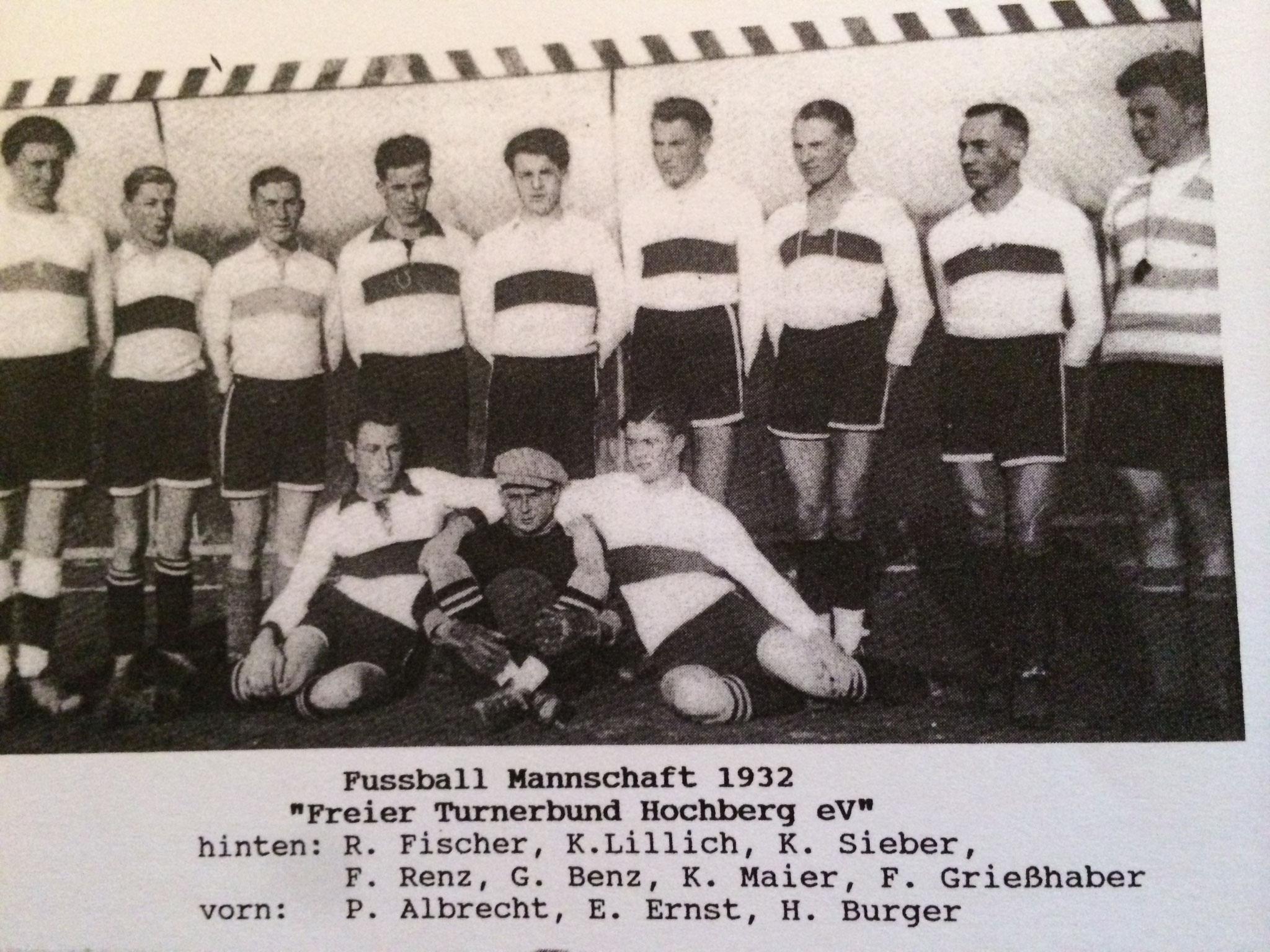 1. Mannschaft - Saison 1931 / 1932