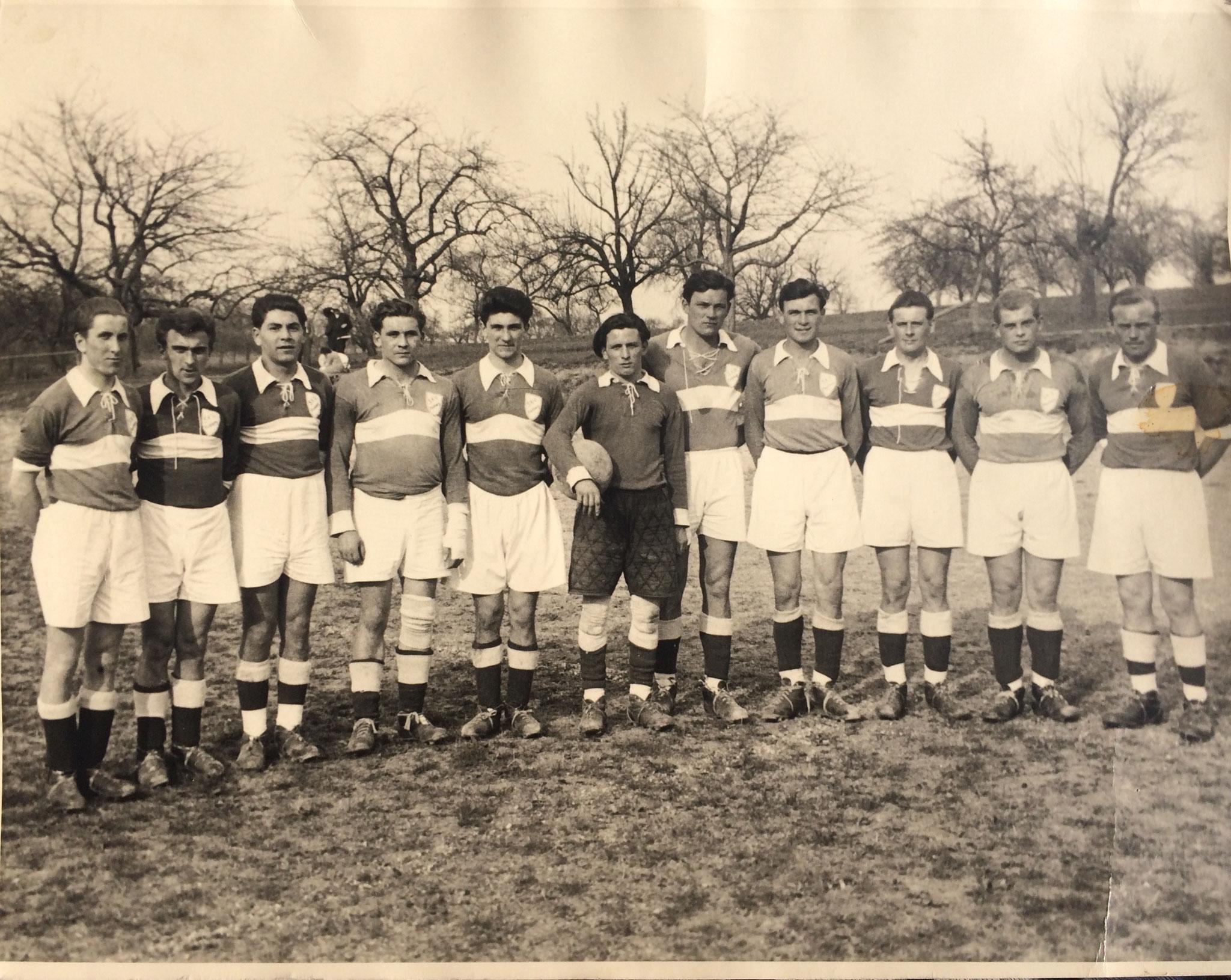 Fußball 1955
