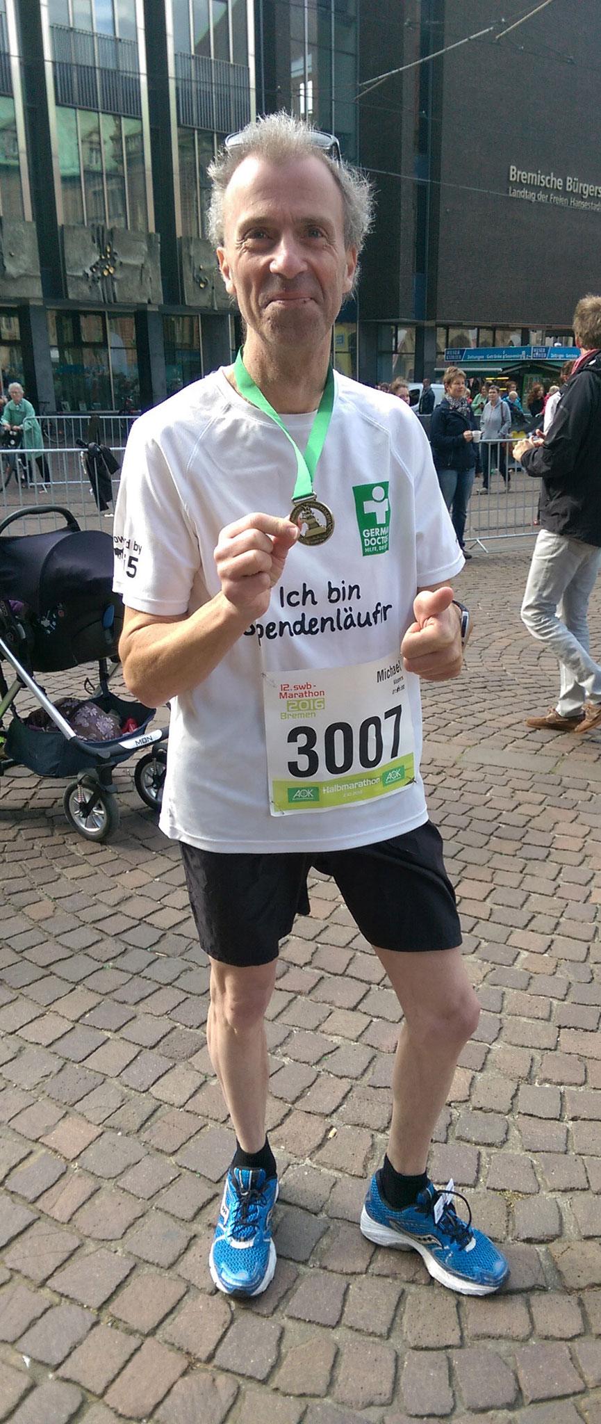 bremen-marathon 2016, Road to 20, teil 2
