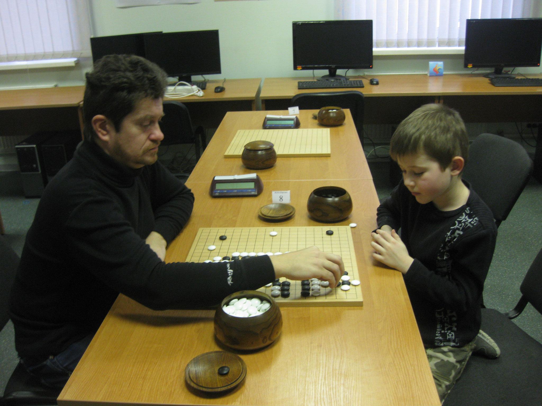 Ярослав Доскал (7 лет) в атаке))))