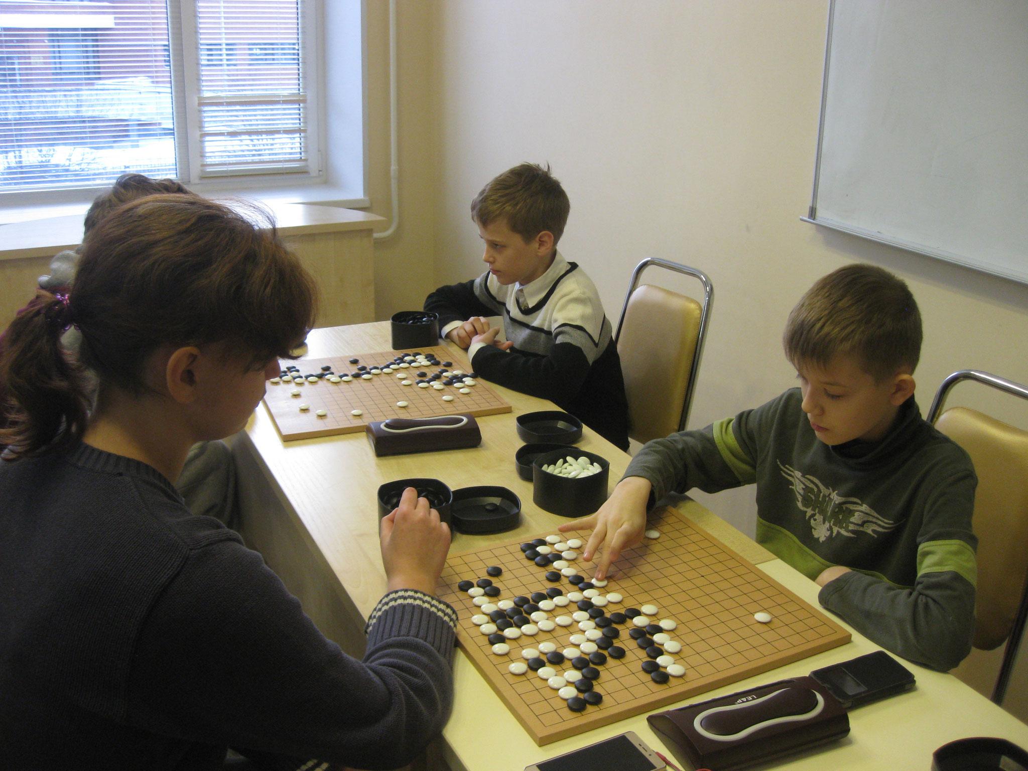 Георгий Захаров (5 кл), Доскал Никита (6 кл)