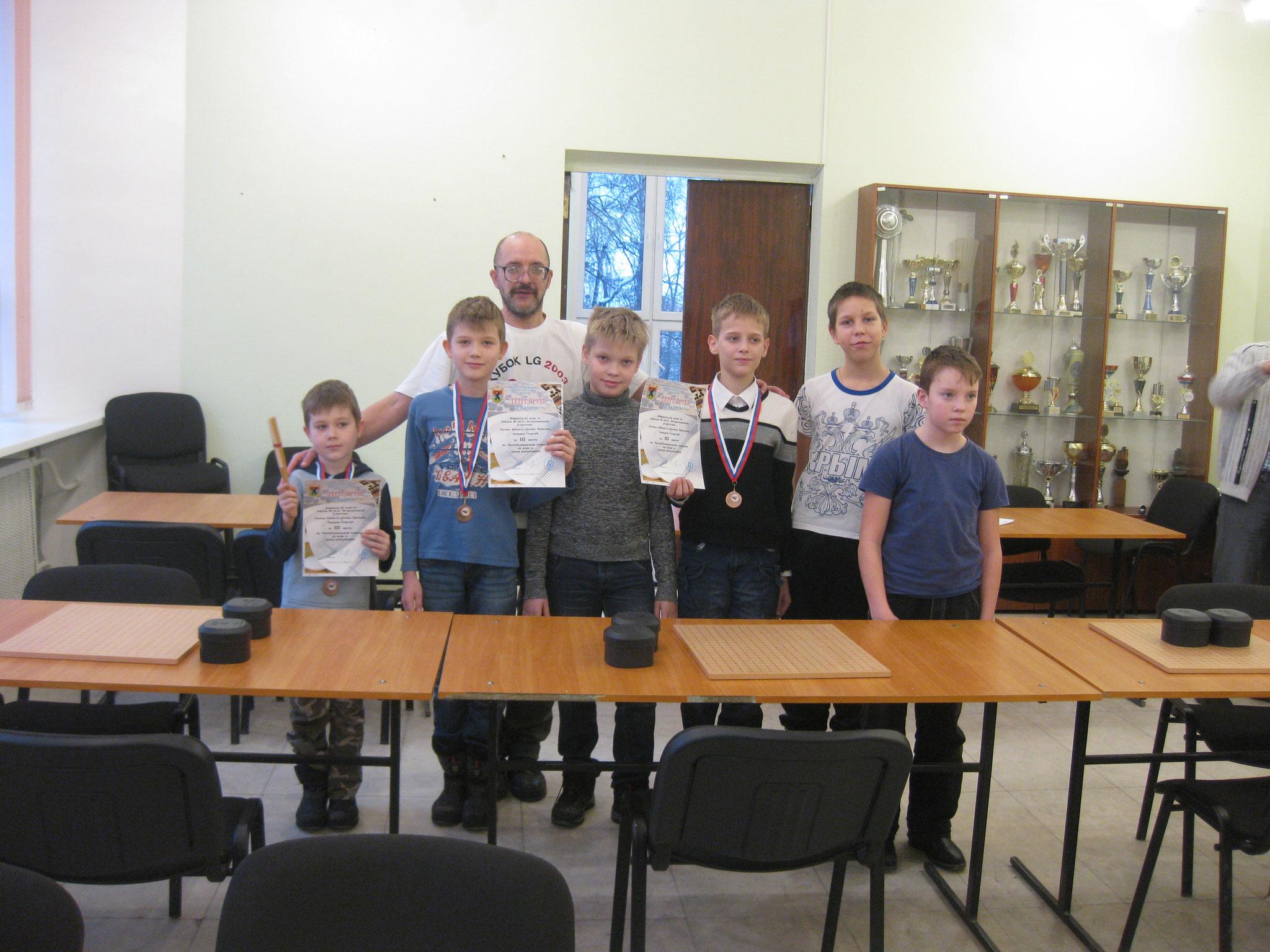 мои первые ученики в Петрозаводске