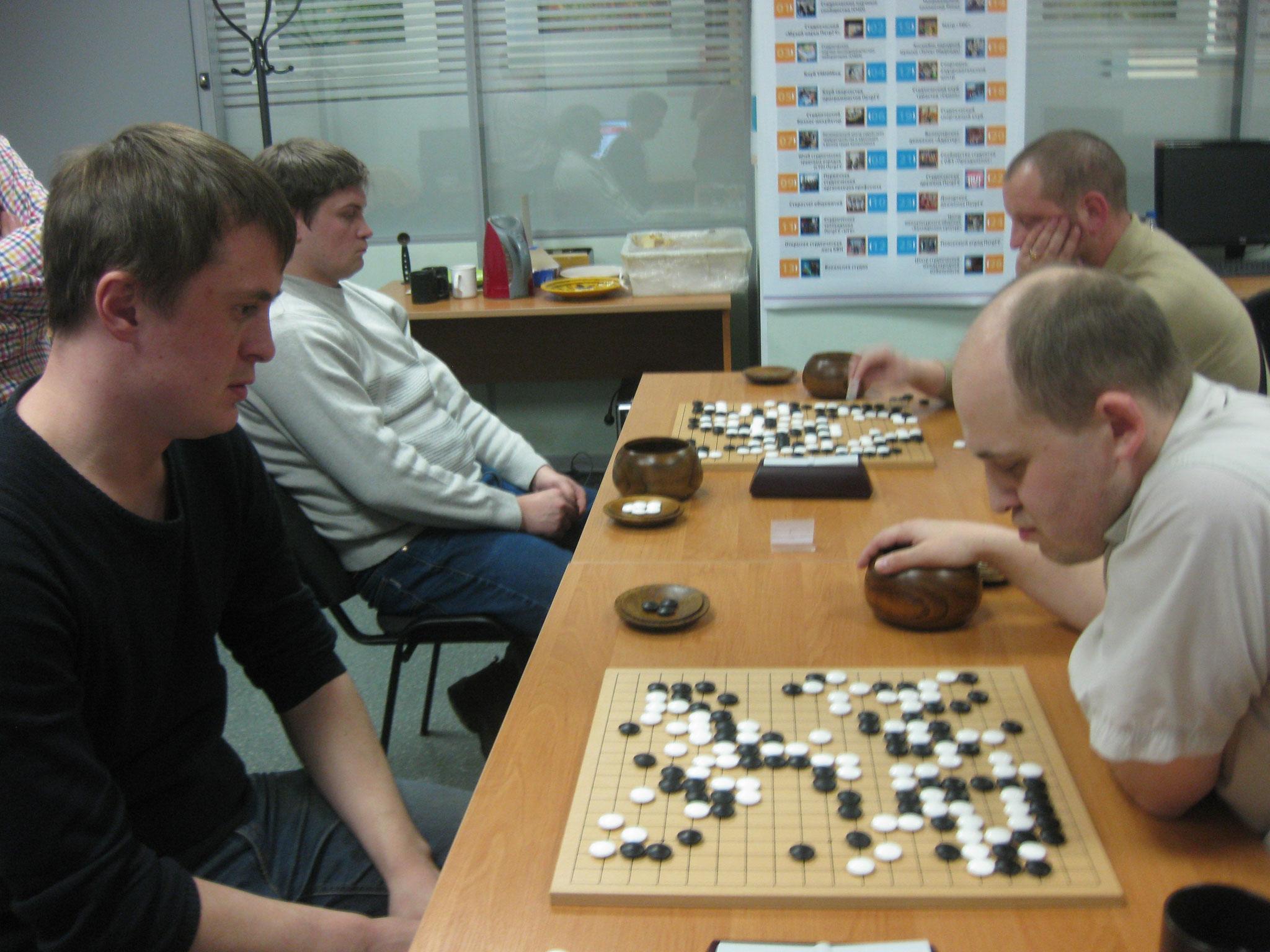 четверка лидеров турнира