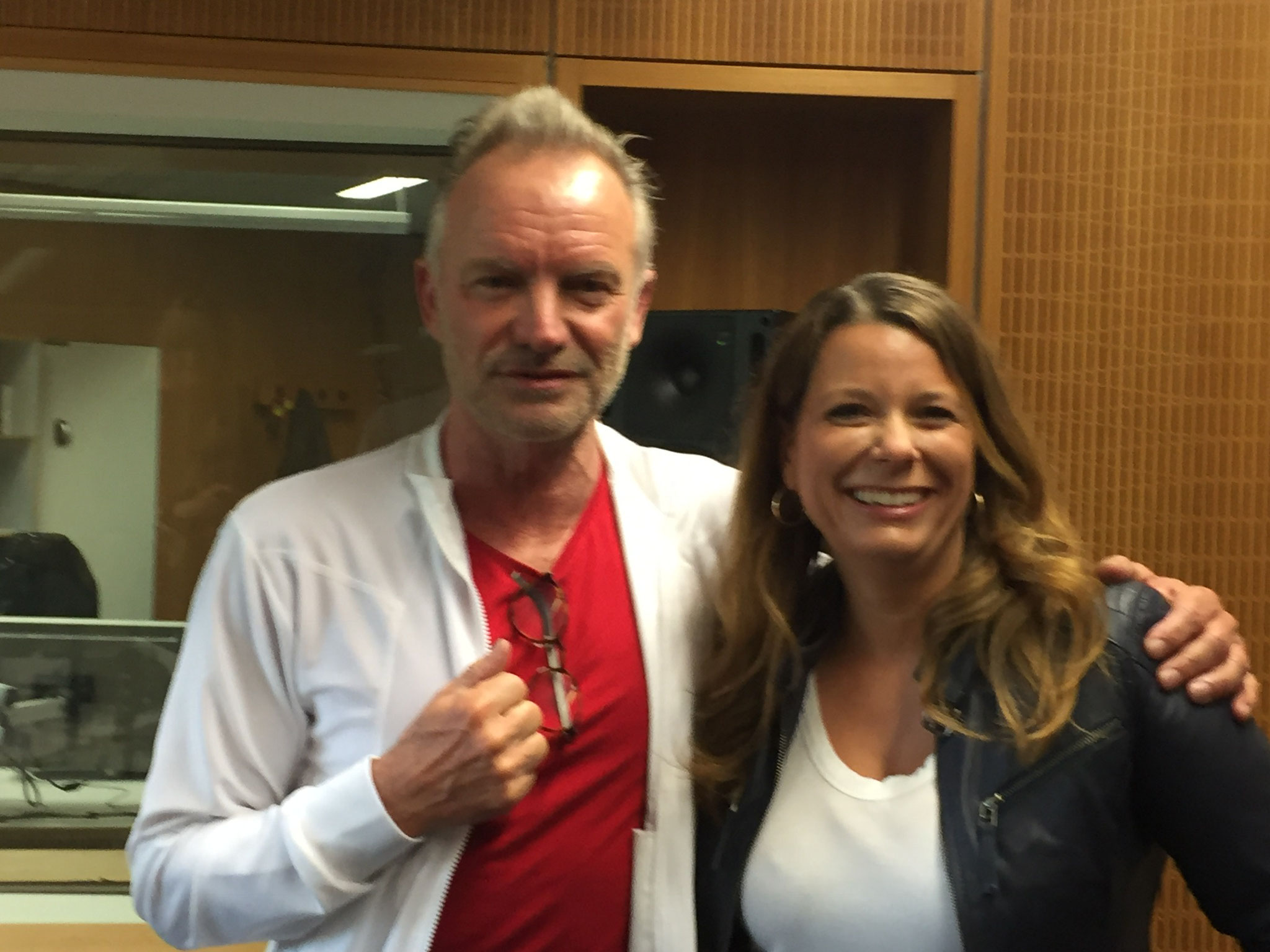 Sting im Interview